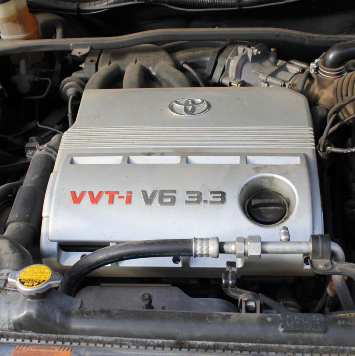 TOYOTA KLUGER, Engine, PETROL, 3.3, 3MZ-FE, MCU28R, 01/01-07/07