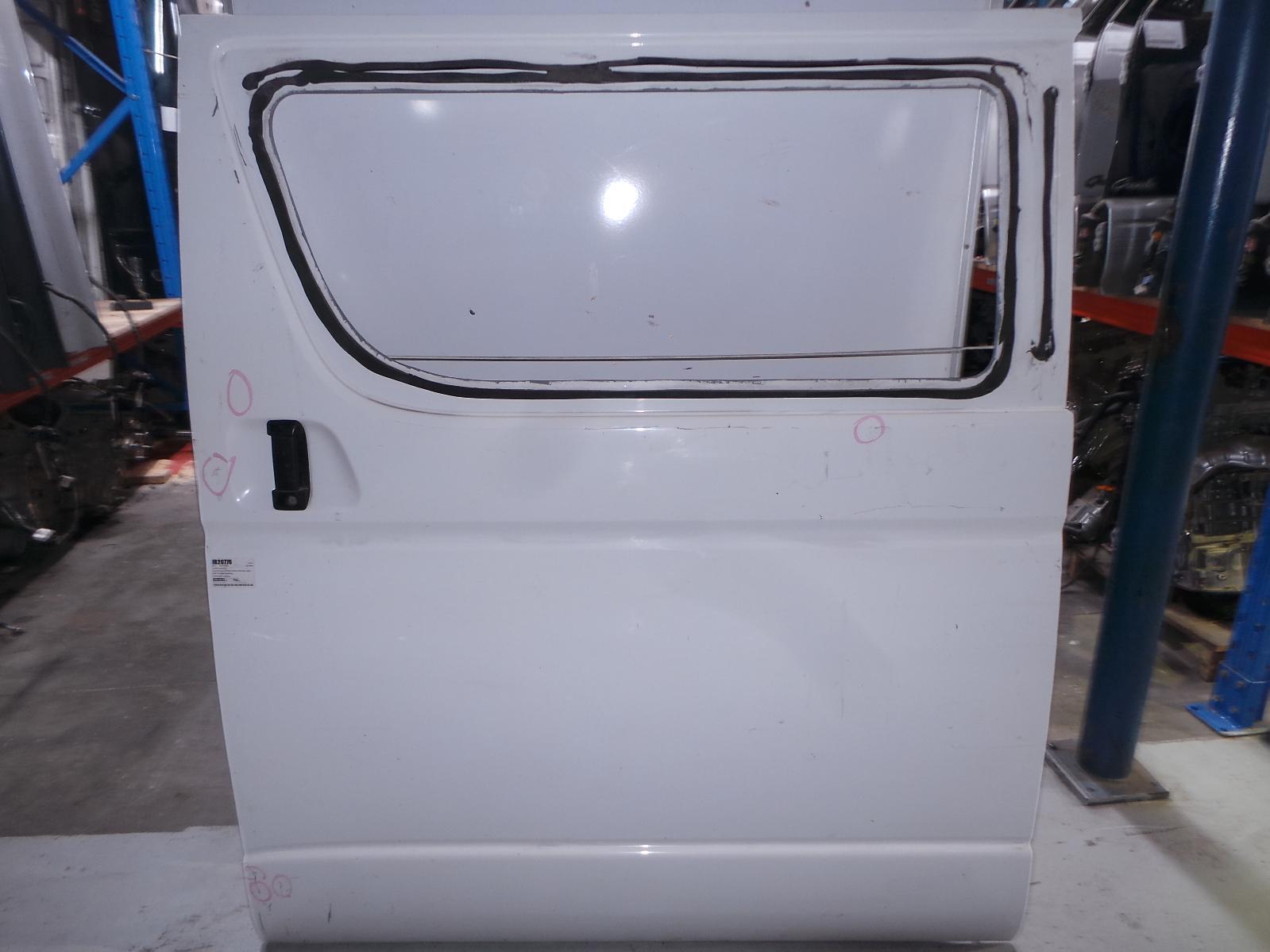 TOYOTA HIACE, Left Rear Door/Sliding, TRH/KDH, LWB/SWB, GLASS TYPE, 03/05-