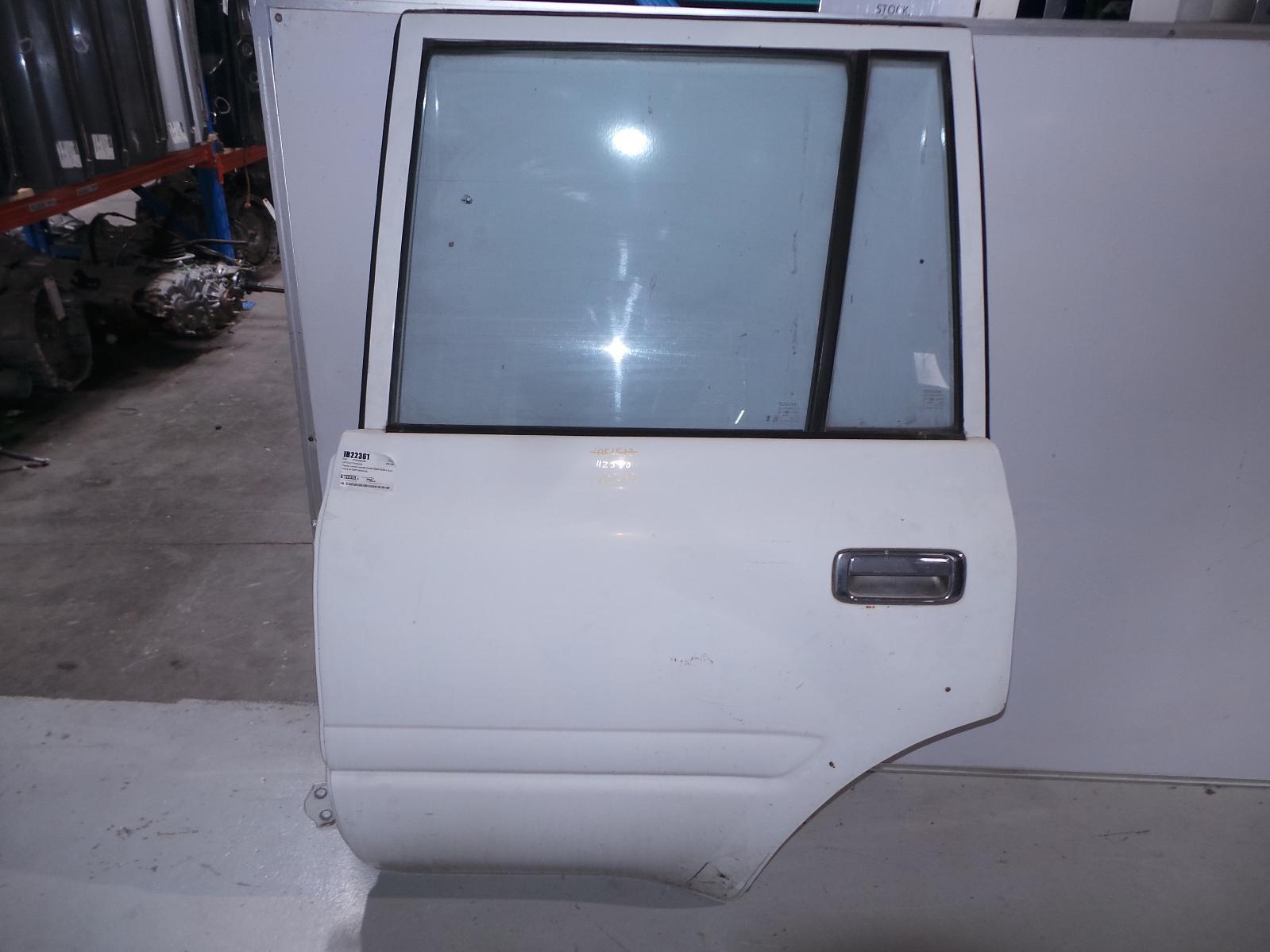 TOYOTA LANDCRUISER, Left Rear Door/Sliding, 80 SERIES, NON FLARE TYPE, 05/90-03/98