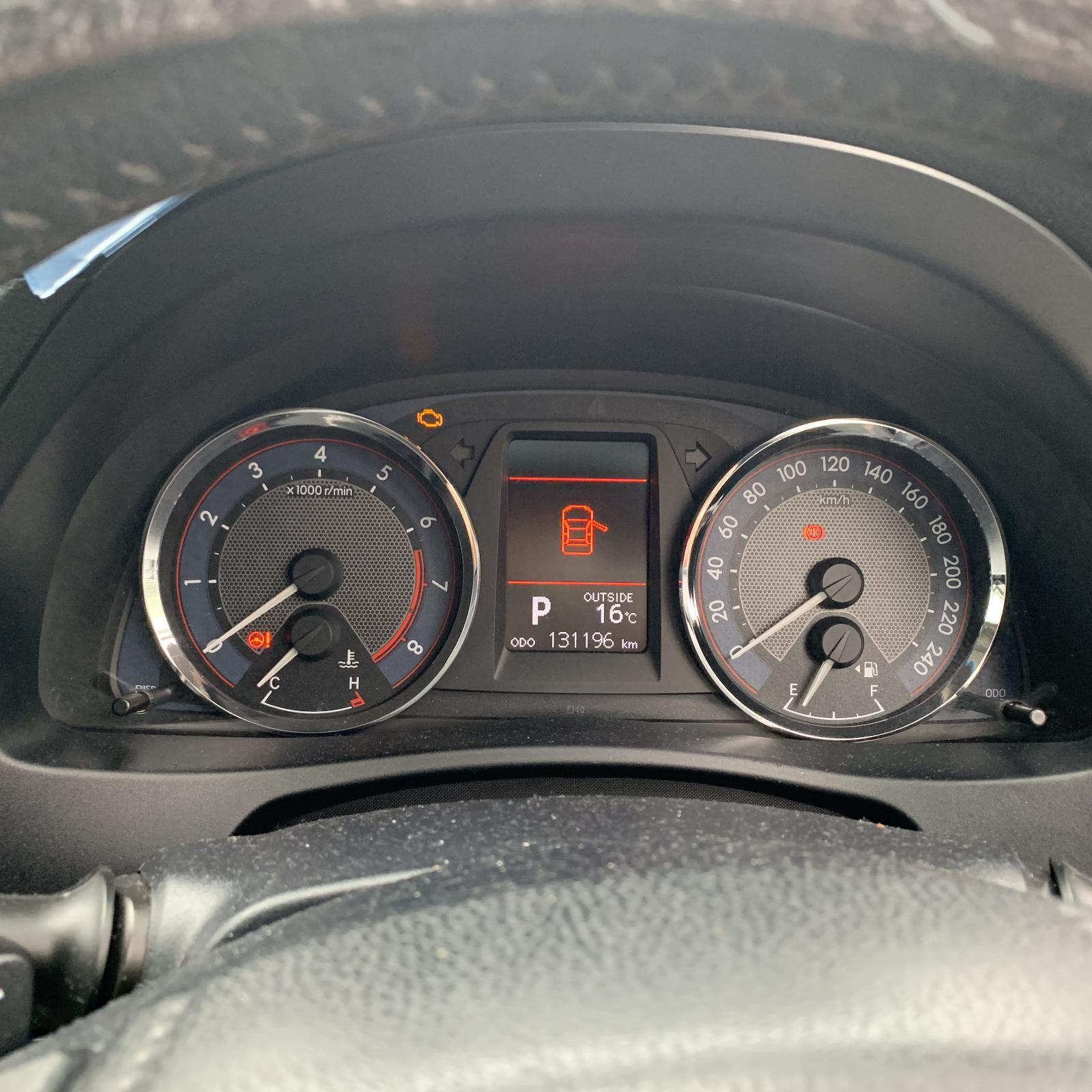 TOYOTA COROLLA, Instrument Cluster, 1.8, 2ZR-FE, AUTO T/M TYPE, LEVIN SX/ZR, ZRE182R, HATCH, 10/12-05/15
