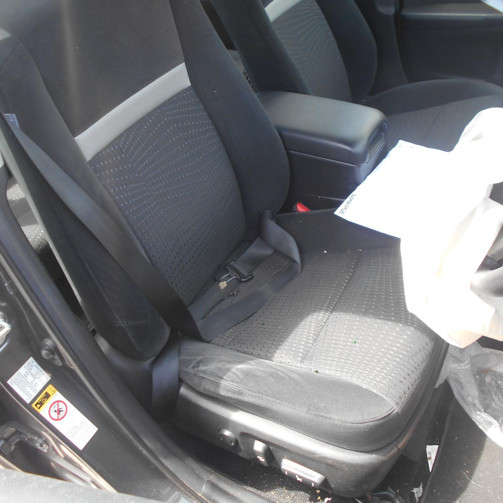 TOYOTA CAMRY, Front Seat, RH FRONT, CLOTH, HYBRID, ACV50, 12/11-05/15