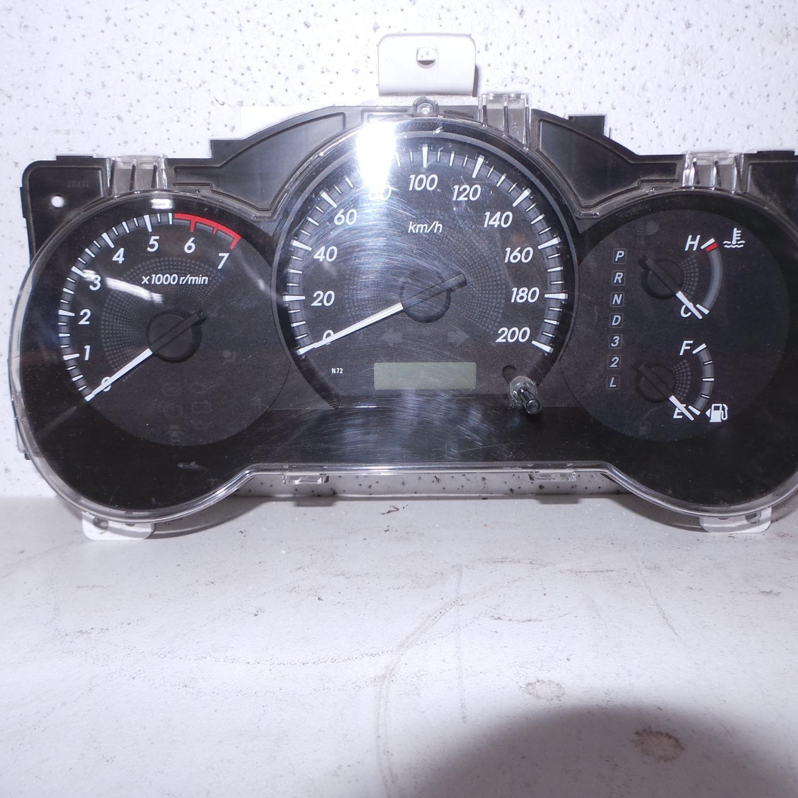 TOYOTA HILUX, Instrument Cluster, PETROL, 2.7, AUTO T/M, 2WD, WORKMATE, 07/11-08/15