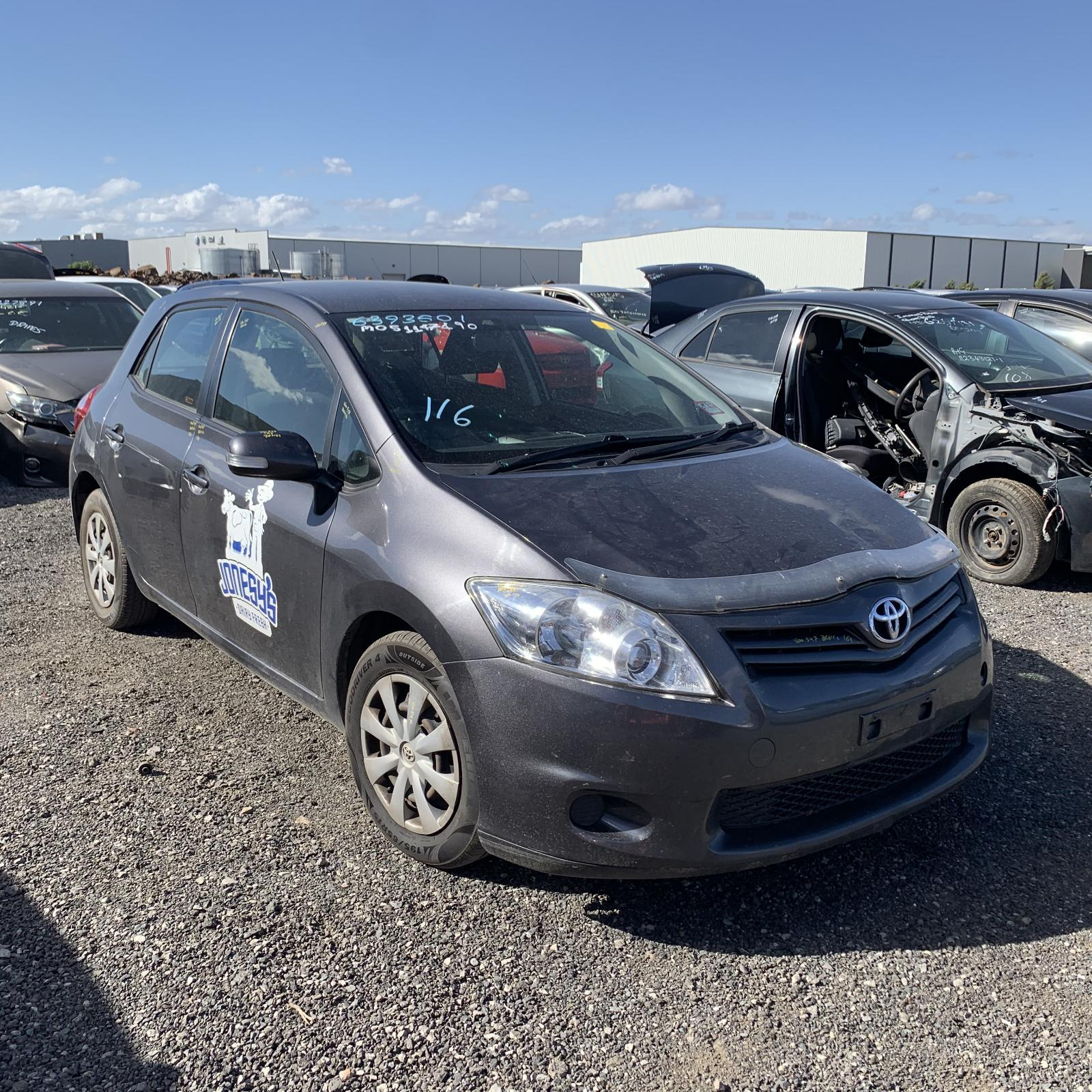 Toyota COROLLA ASCENT ZRE152 1.8L ENGINE AUTOMATIC FWD TRANSMISSION 03/07 - 09/12