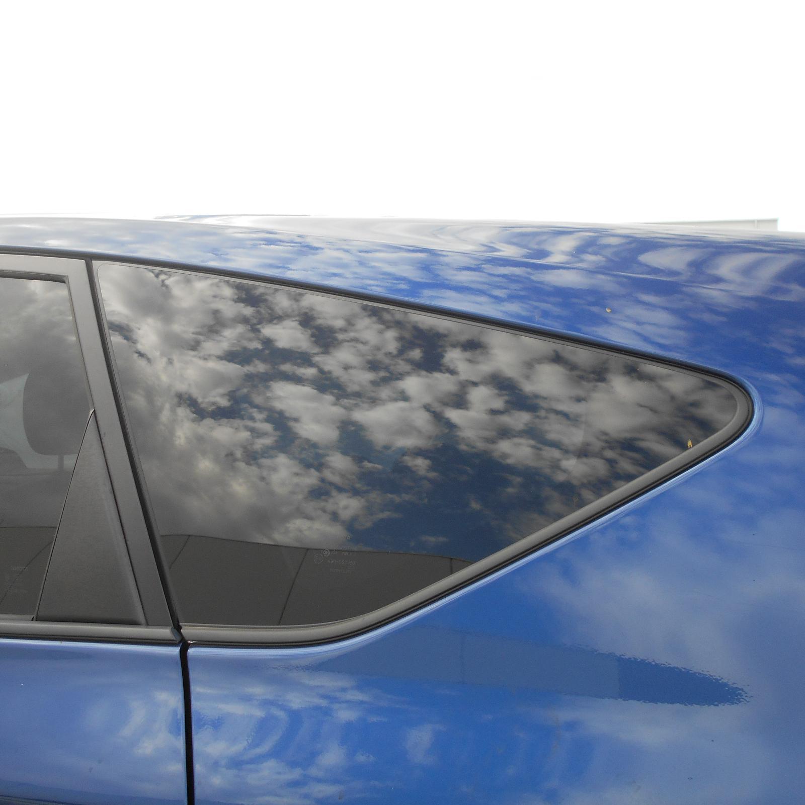 TOYOTA PRIUS, Left Rear Side Glass, ZVW40R, PRIUS V, 05/12-