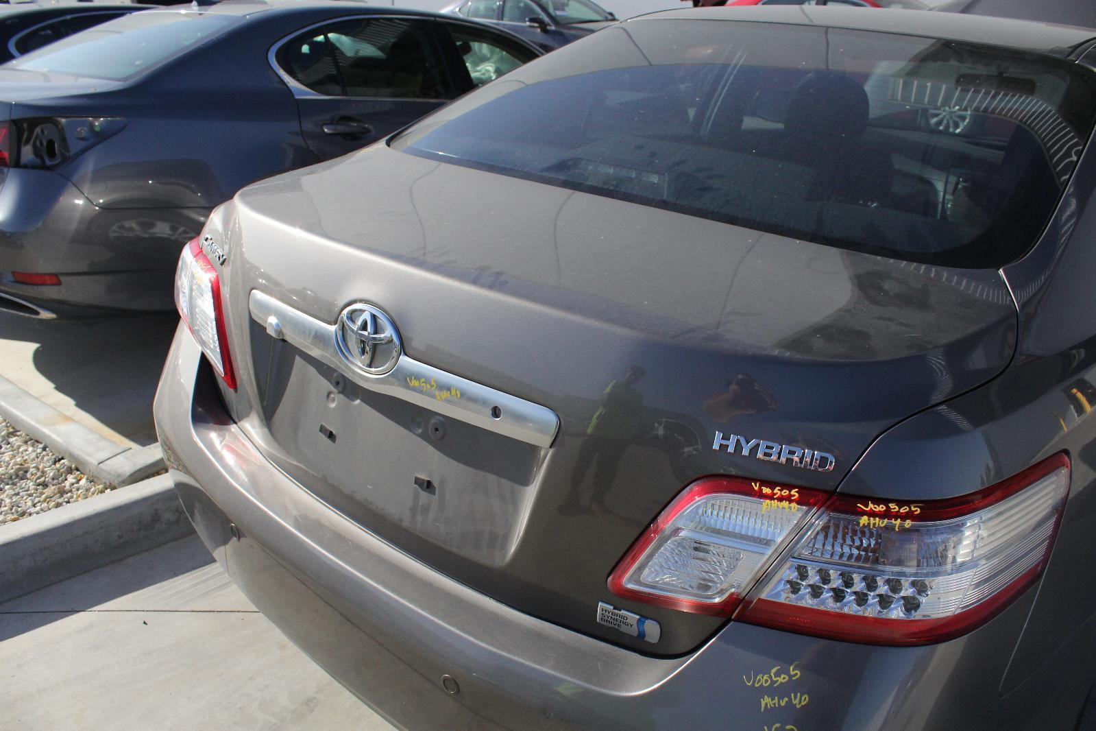 TOYOTA CAMRY, Bootlid/Tailgate, BOOTLID, AHV40, GRANDE/HYBRID, W/ CAMERA & NON SPOILER TYPE, 12/09-11/11