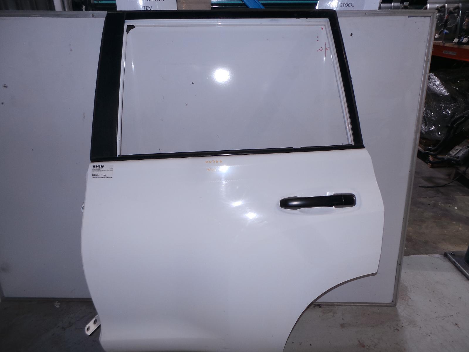 TOYOTA PRADO, Left Rear Door/Sliding, 150 SERIES, 11/09-