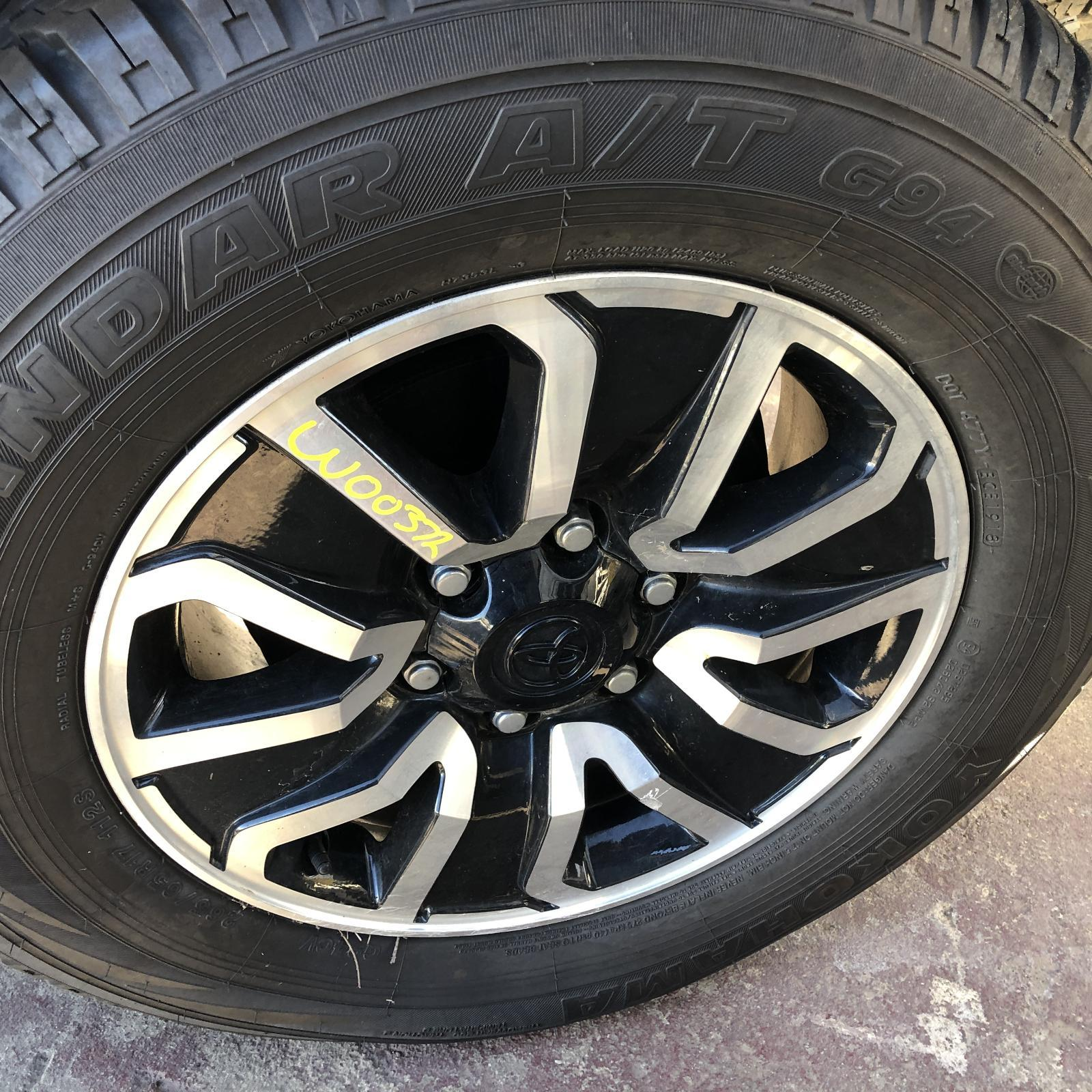TOYOTA HILUX, Wheel Mag, FACTORY, 17X7.5IN, TOUGH, 04/18-