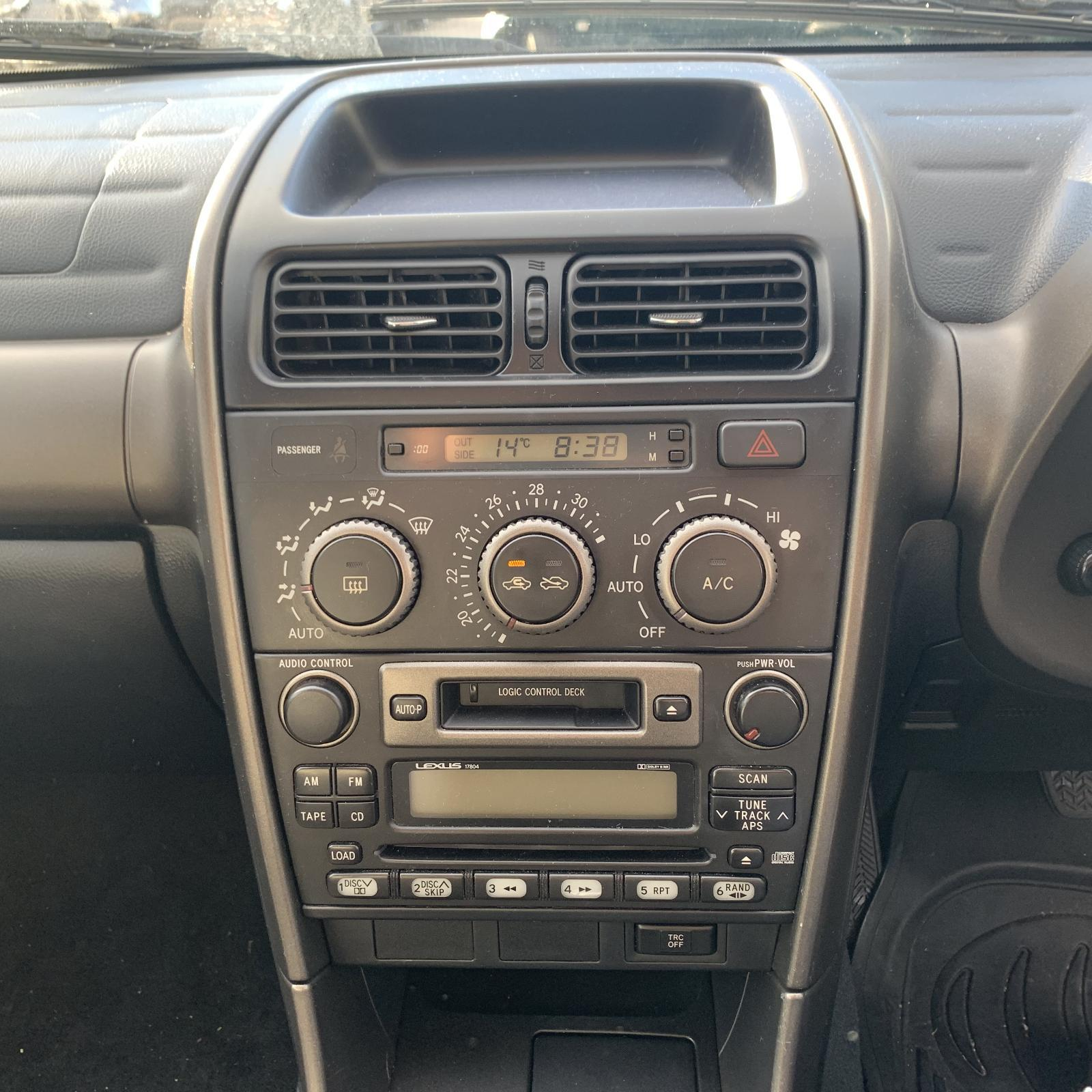 LEXUS IS200/IS300, Radio/Cd/Dvd/Sat/Tv, CD STACKER IN DASH, 01/98-10/05
