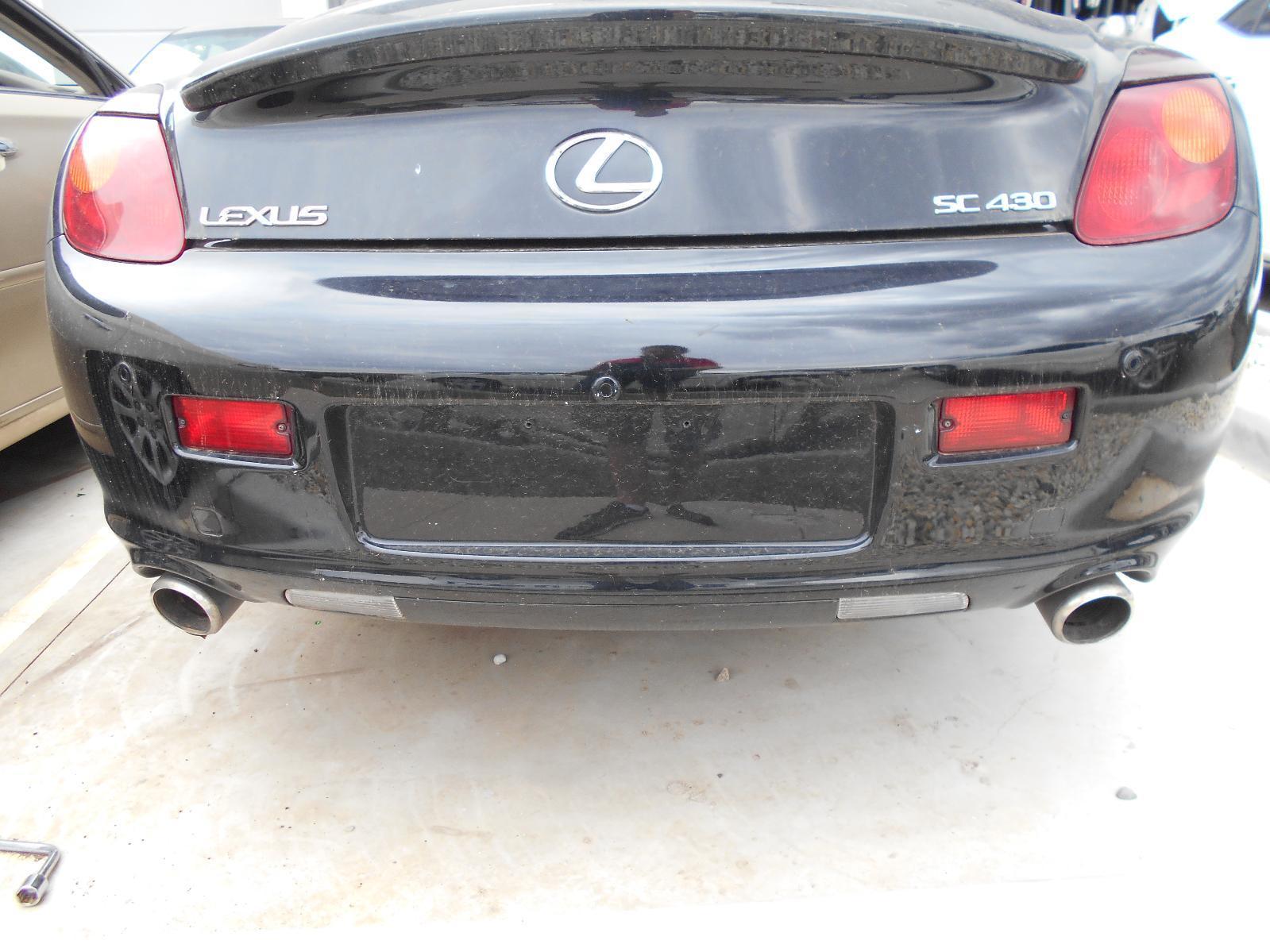 LEXUS SC430, Rear Bumper, UZZ40R, 10/01-08/10