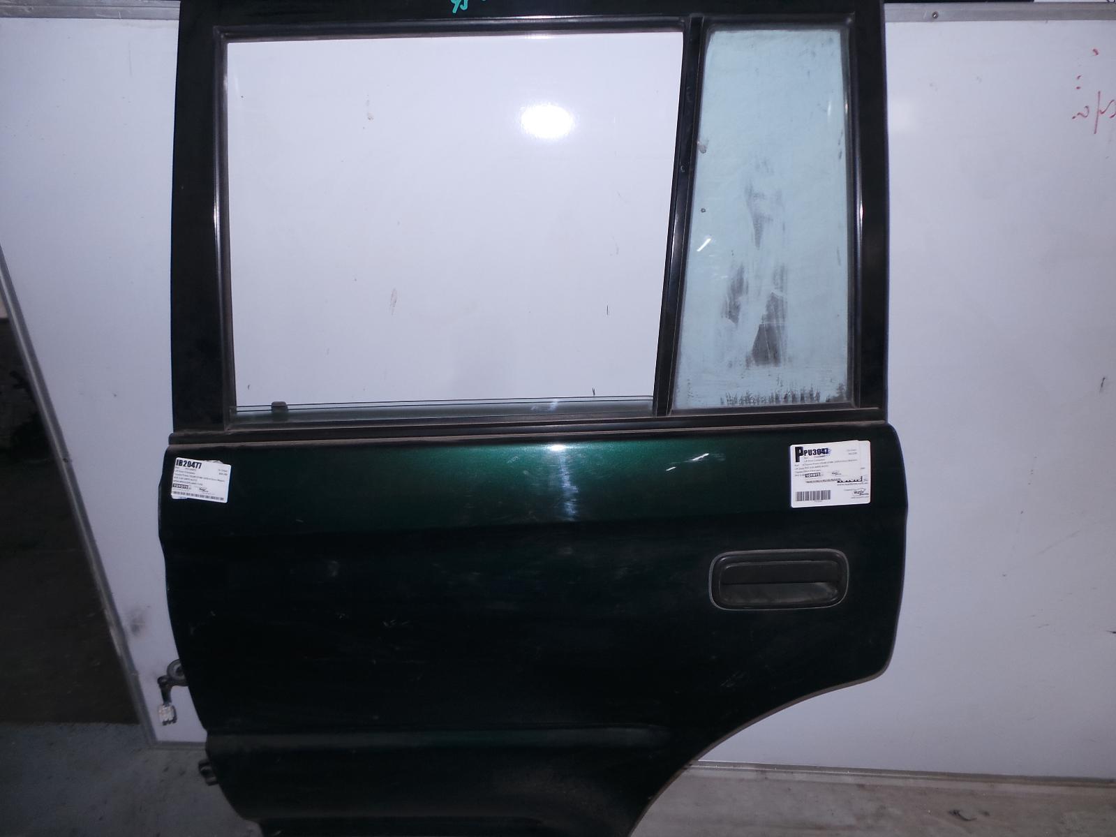 TOYOTA PRADO, Left Rear Door/Sliding, 95 SERIES, NON MOULD TYPE, 07/96-01/03