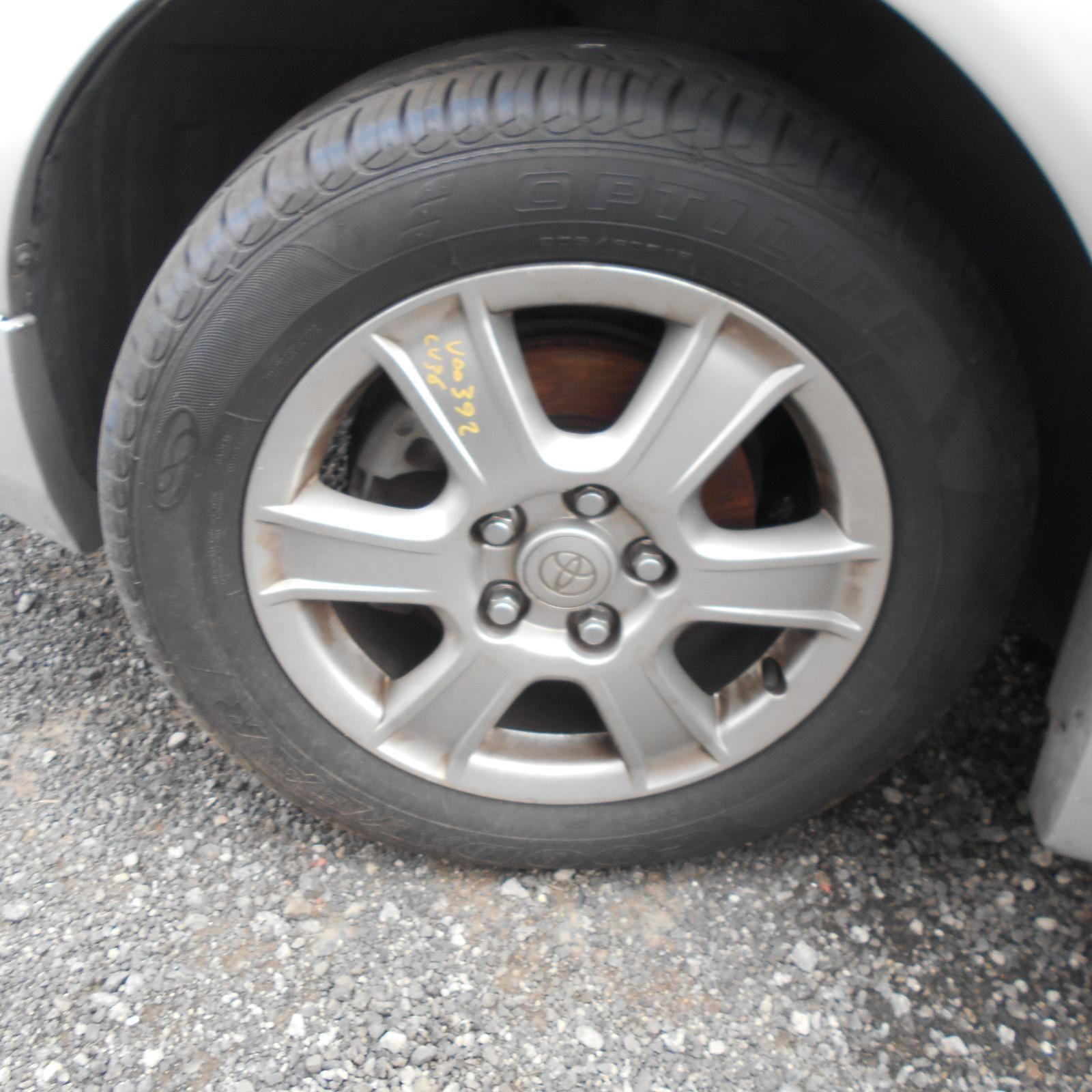 TOYOTA CAMRY, Wheel Mag, FACTORY, 16X6.0IN, SK36, 6 SPOKE, ALTISE/SPORTIVO, 08/02-05/06