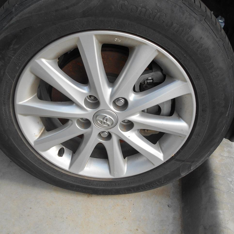 TOYOTA CAMRY, Wheel Mag, FACTORY, 16X6.5IN, ACV40/AHV40, 10 SPOKE, 06/06-11/11
