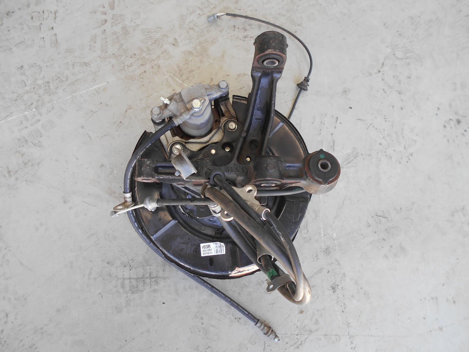 TOYOTA CAMRY, Right Rear Hub Assembly, XV40, 06/06-02/12