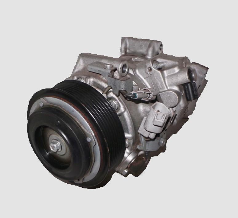 TOYOTA KLUGER, A/C Compressor, GSU40-GSU45, 3.5, 2GR-FE, TSB19C, NON REAR A/C TYPE, 08/07-02/14