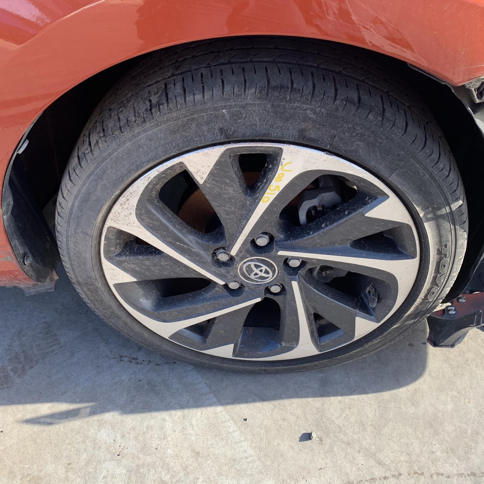 TOYOTA COROLLA, Wheel Mag, FACTORY, 17X7IN, ZRE182R, HATCH, 03/15-