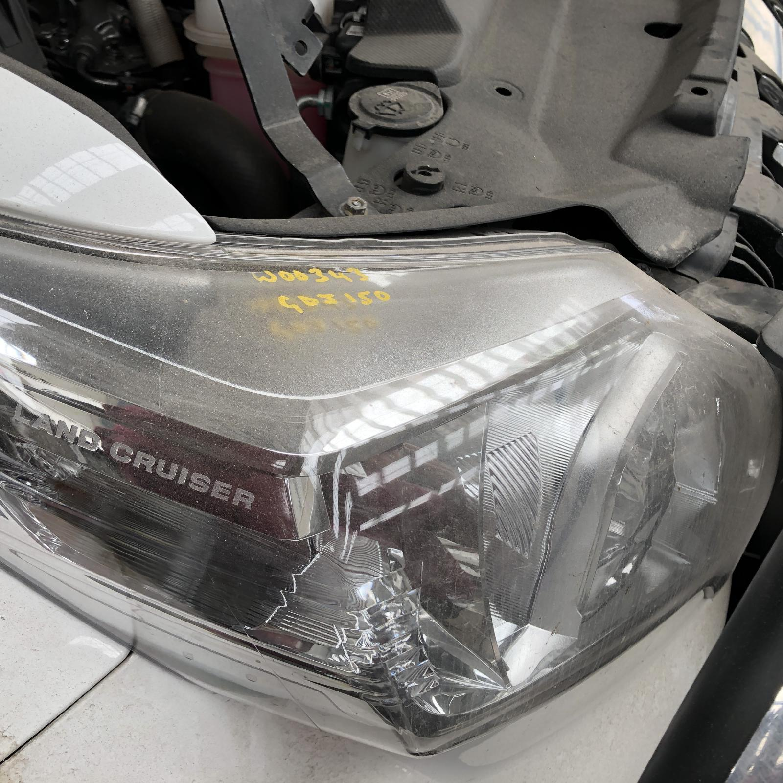 TOYOTA PRADO, Right Headlamp, 150 SERIES, GX/GXL, HALOGEN TYPE, 11/13-09/17