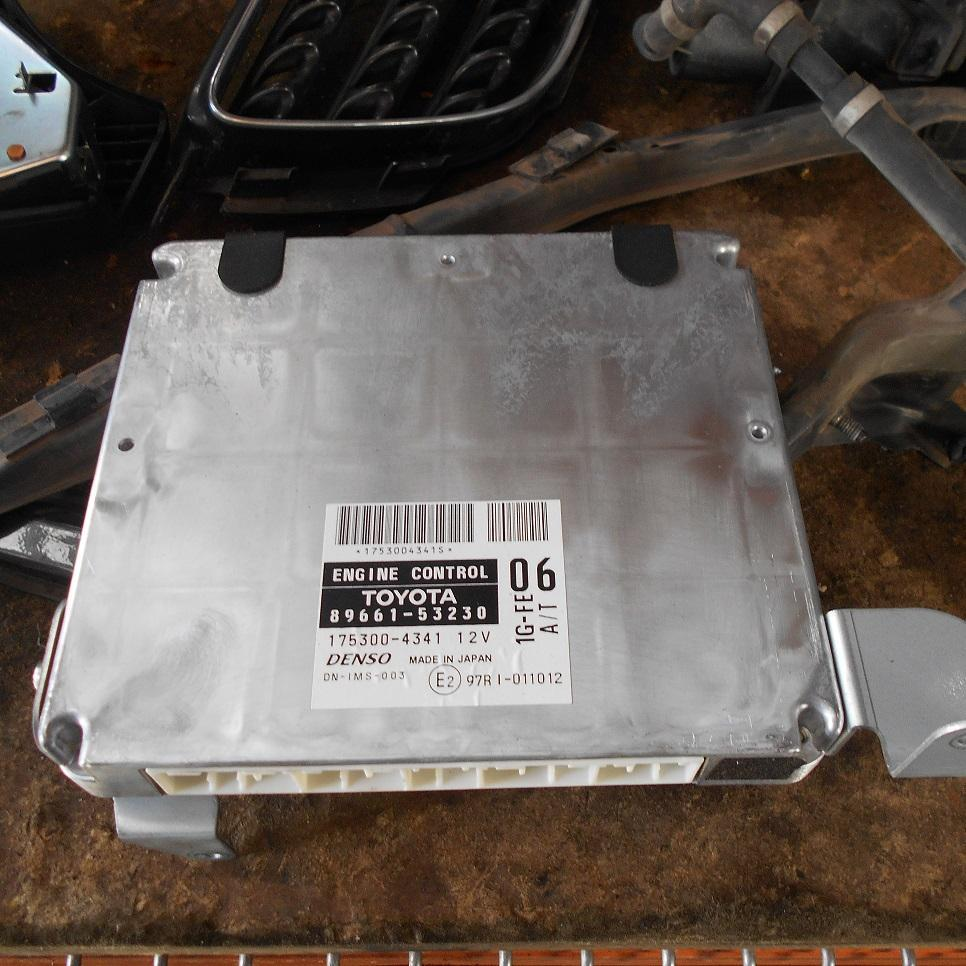 LEXUS IS200/IS300, Ecu, IS200, ENGINE ECU, 2.0, 1G-FE, AUTO, P/N 89661-53230, ECU ONLY, 01/98-10/05