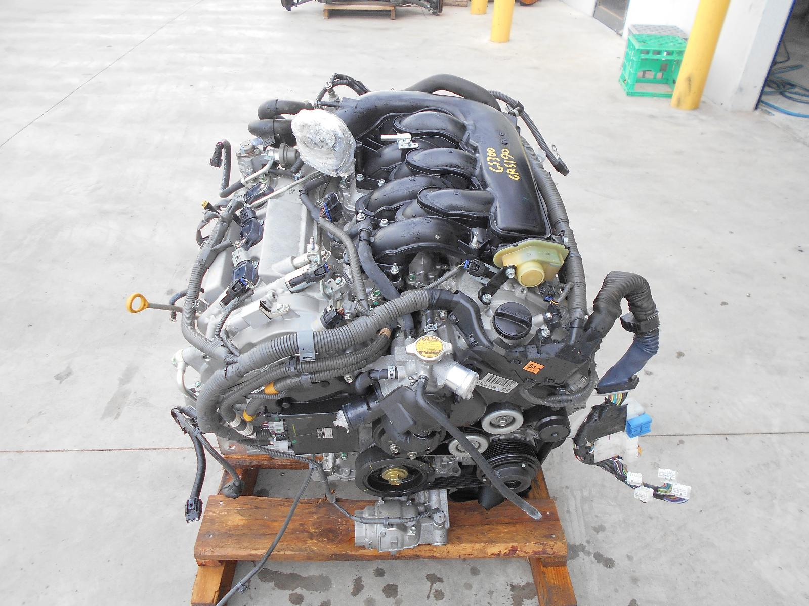 LEXUS GS, Engine, PETROL, 3.0, 3GR, 190 SERIES, 03/05-12/11