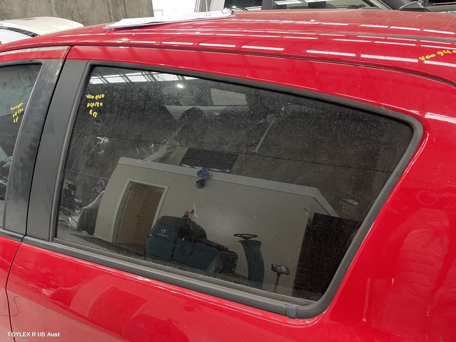 TOYOTA YARIS, Left Rear Door Window, NCP13#, HATCH, 08/11-12/19