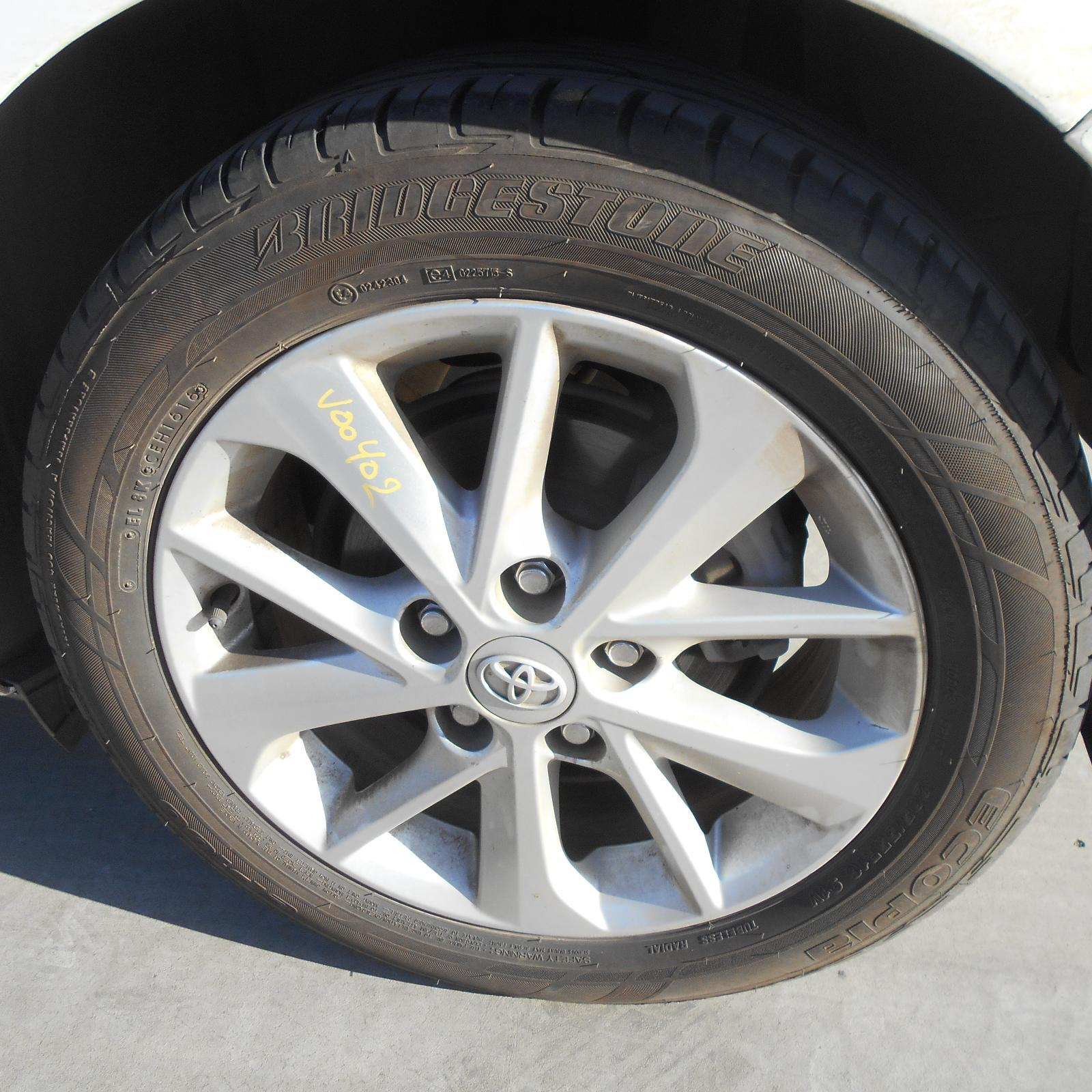 TOYOTA COROLLA, Wheel Mag, FACTORY, 16X6.5IN, ZRE182R, HATCH, 10/12-03/15