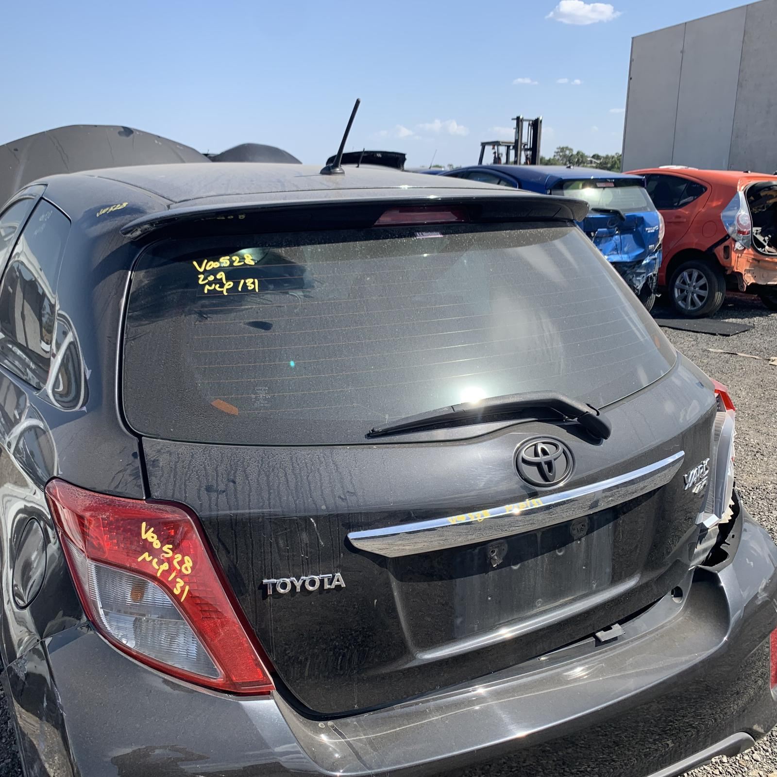 TOYOTA YARIS, Bootlid/Tailgate, TAILGATE, NCP13#, ZR, HATCH, SPOILERED TYPE, 11/11-06/14
