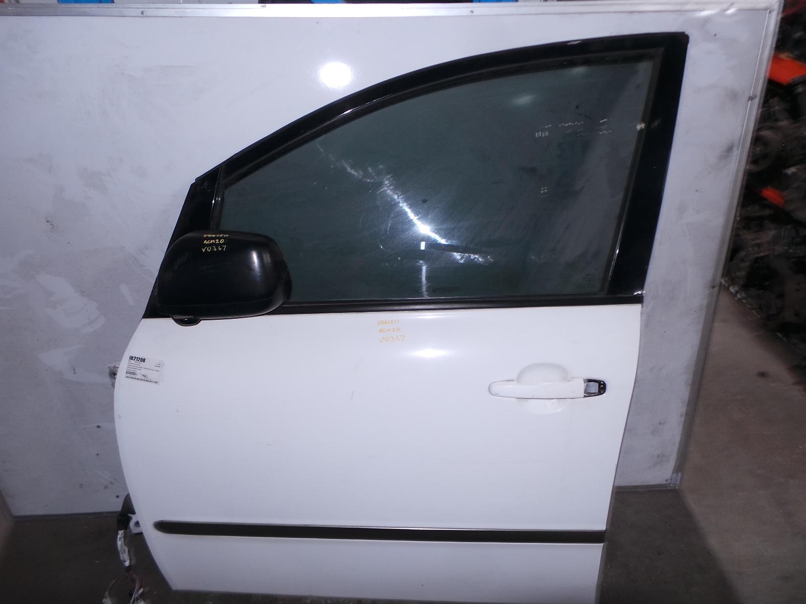 TOYOTA AVENSIS, Left Front Door, ACM2#R, 12/01-12/10