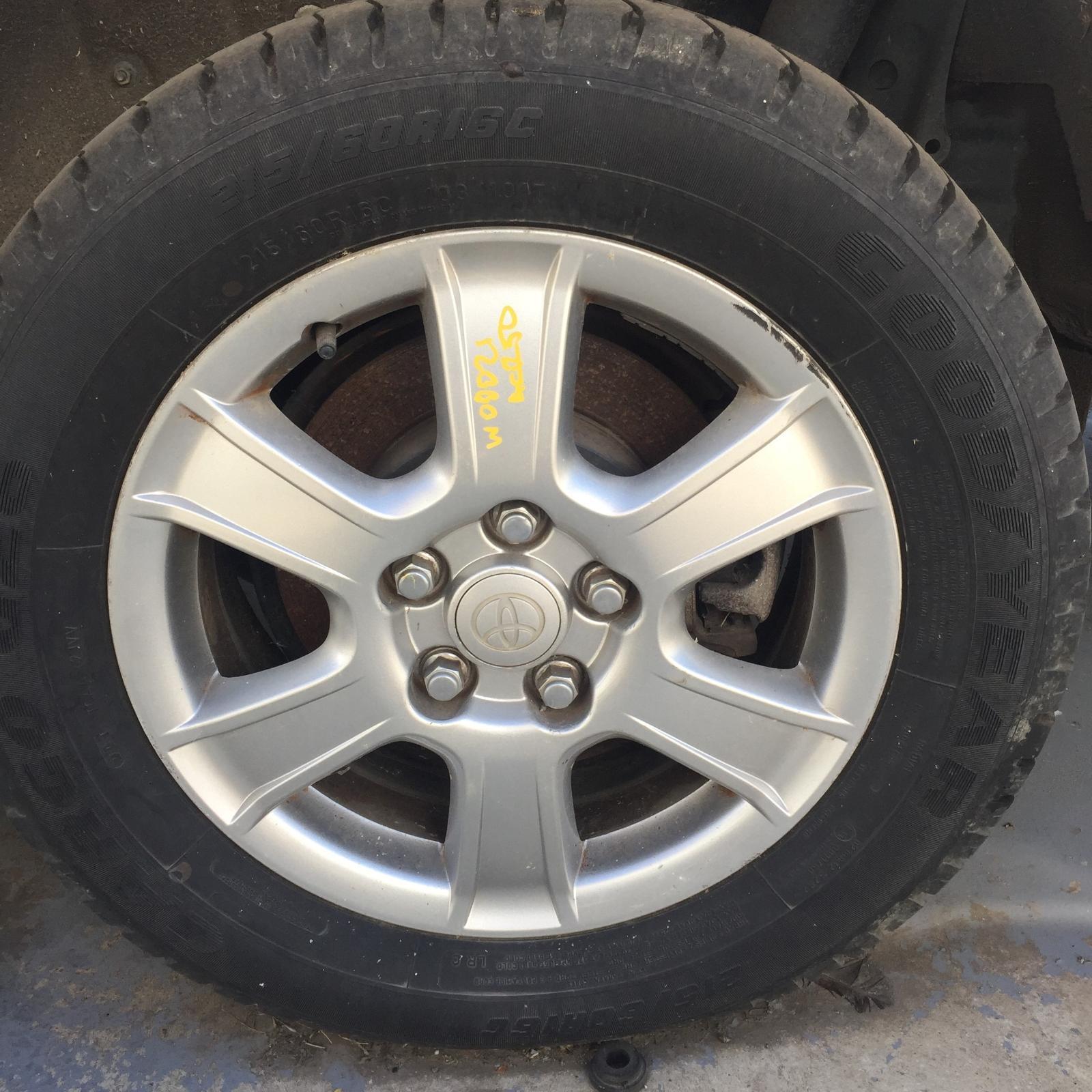 TOYOTA TARAGO, Wheel Mag, FACTORY, 16X6IN, GLi, ACR50R, 03/06-