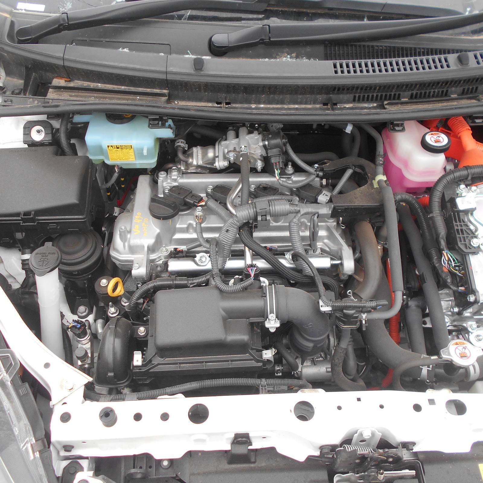 TOYOTA PRIUS, Engine, PETROL, 1.5, 1NZ-FXE, HYBRID, NHP10R, PRIUS C, 03/12-