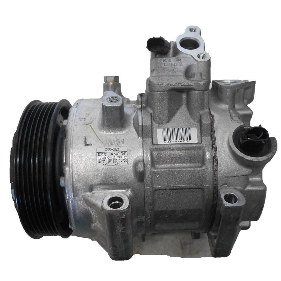 TOYOTA CAMRY, A/C Compressor, ACV50, 2.5, 2AR-FE, 12/11-10/17