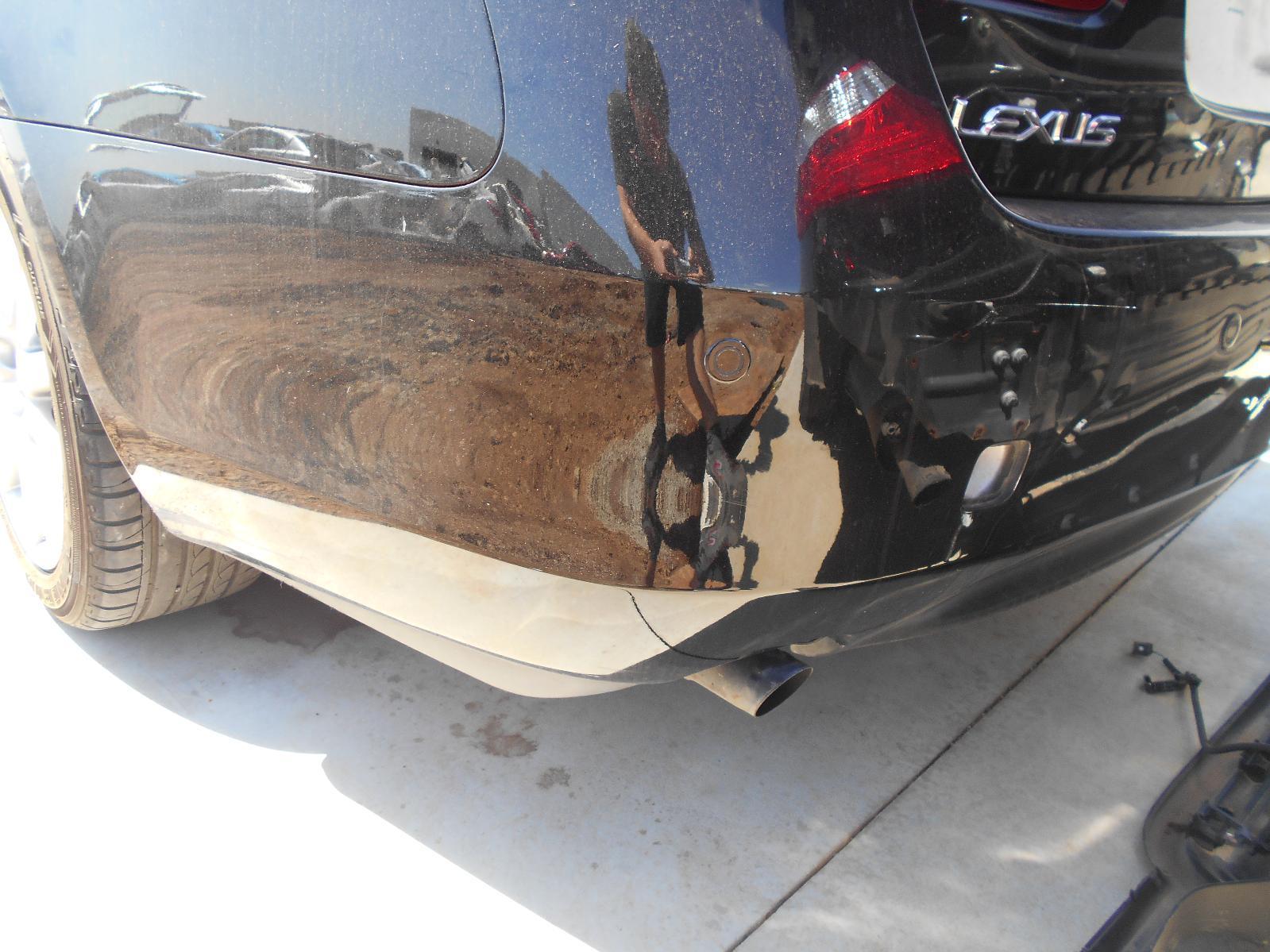 LEXUS GS, Rear Bumper, 190 SERIES, 03/05-01/08