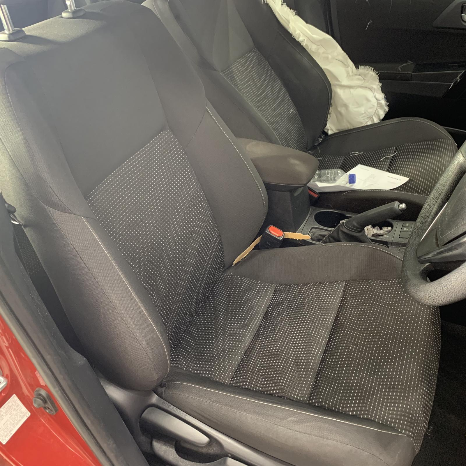 TOYOTA COROLLA, Front Seat, RH FRONT, ZRE182R/ZWE186R, HATCH, CLOTH, ASCENT/ASCENT SPORT/HYBRID, 03/15-