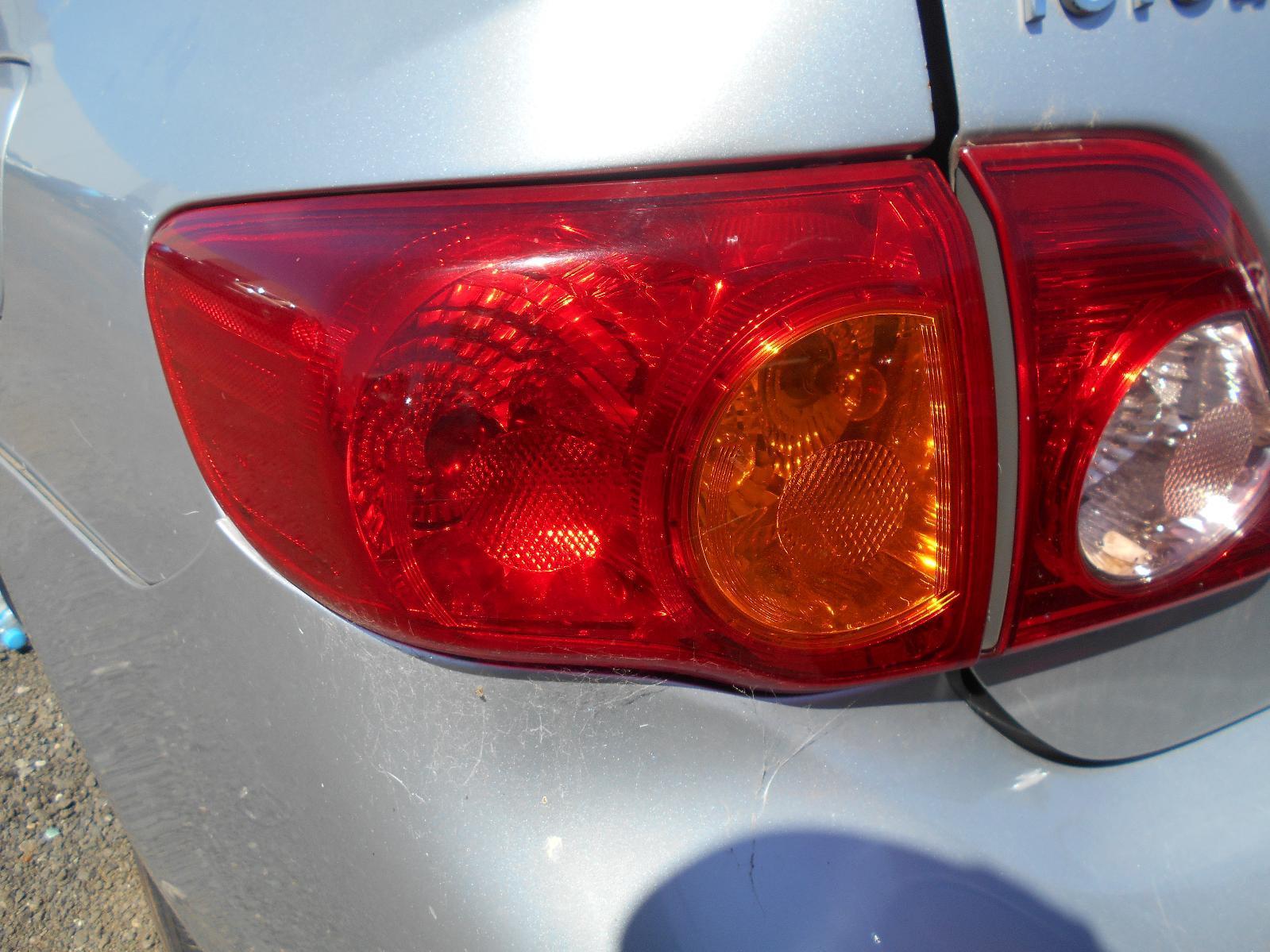 TOYOTA COROLLA, Left Taillight, ZRE152/153R, SEDAN, 03/07-02/10