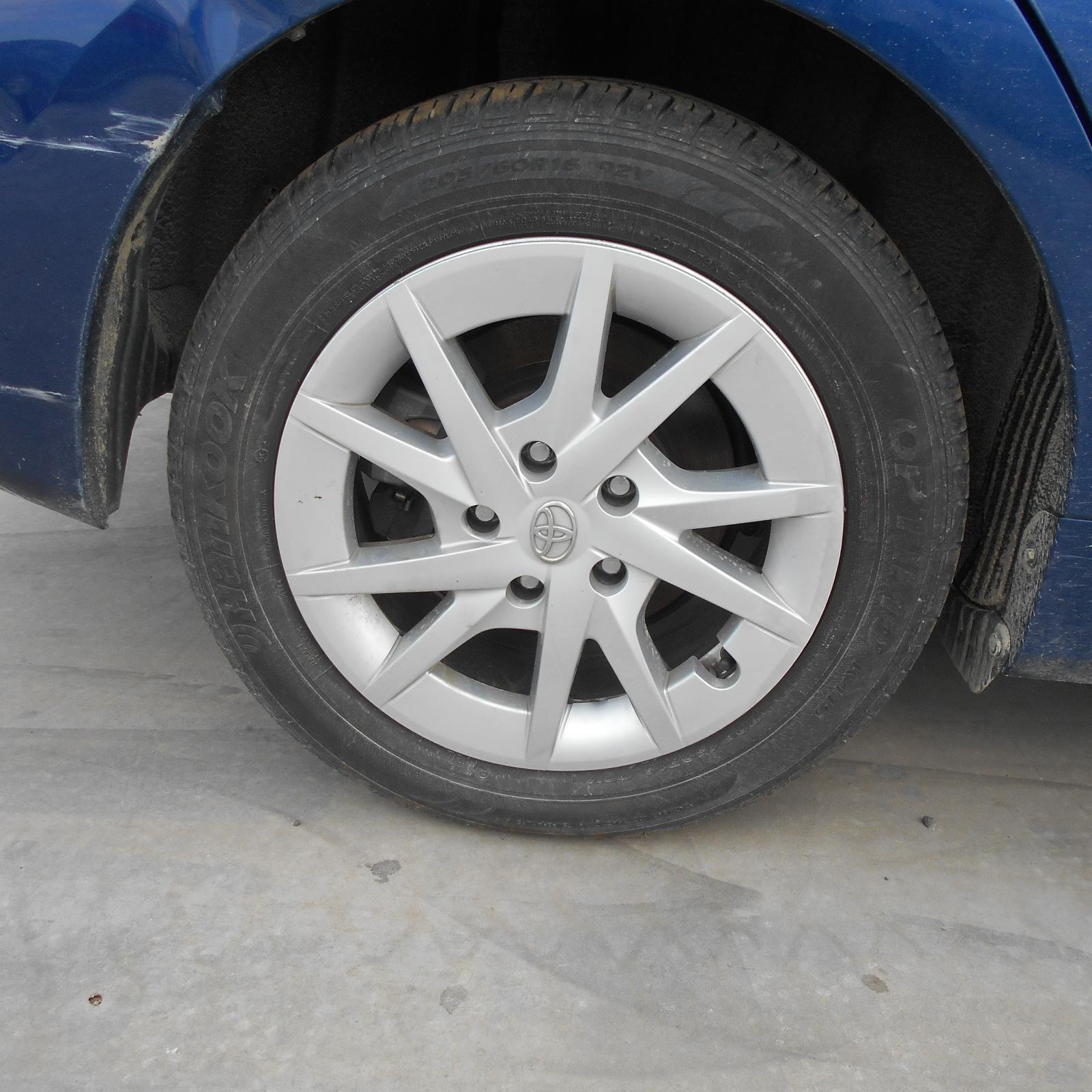 TOYOTA PRIUS, Wheel Mag, FACTORY, 16X6.5IN, ZVW40R, 05/12-
