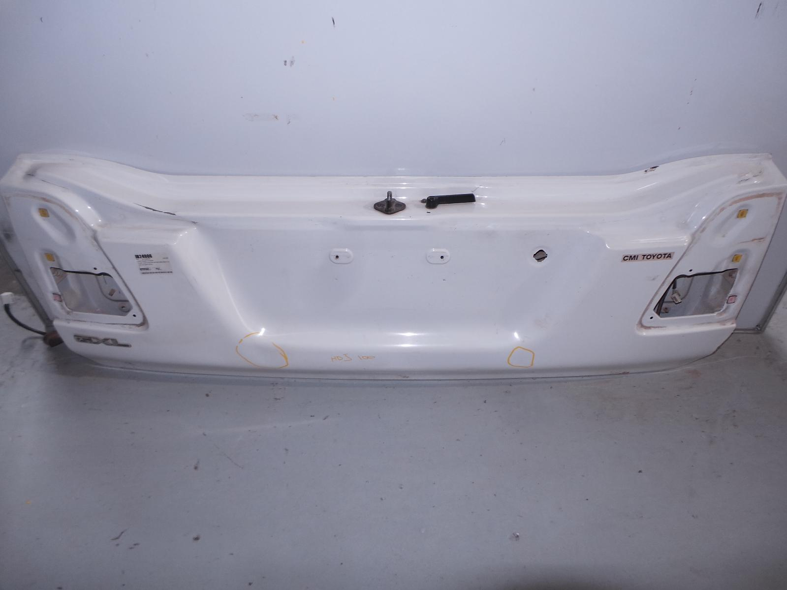 TOYOTA LANDCRUISER, Bootlid/Tailgate, 100 SERIES, LOWER TAILGATE, 12/98-10/07