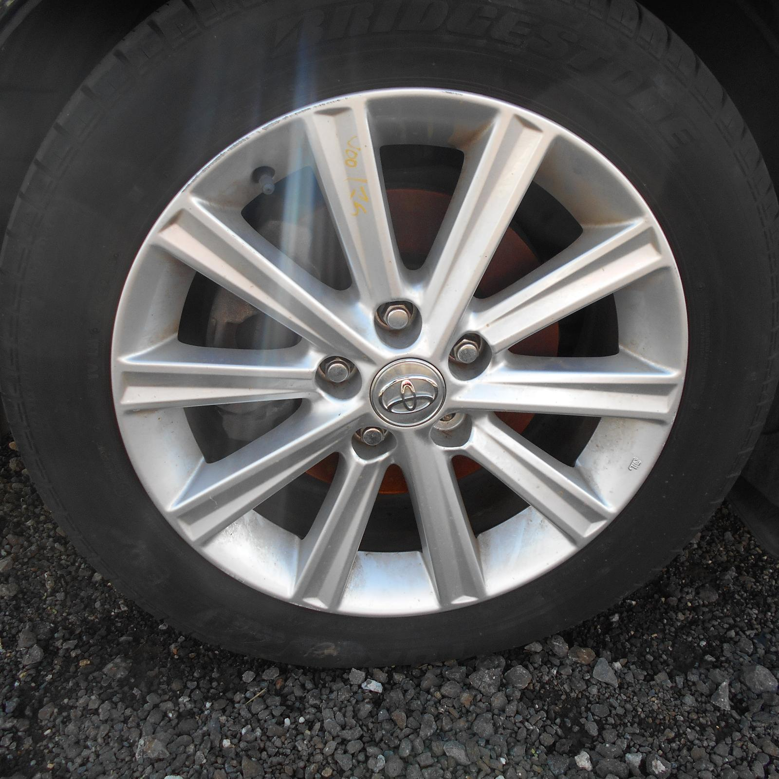 TOYOTA CAMRY, Wheel Mag, FACTORY, 17X7.0IN, ACV40, 06/06-11/11