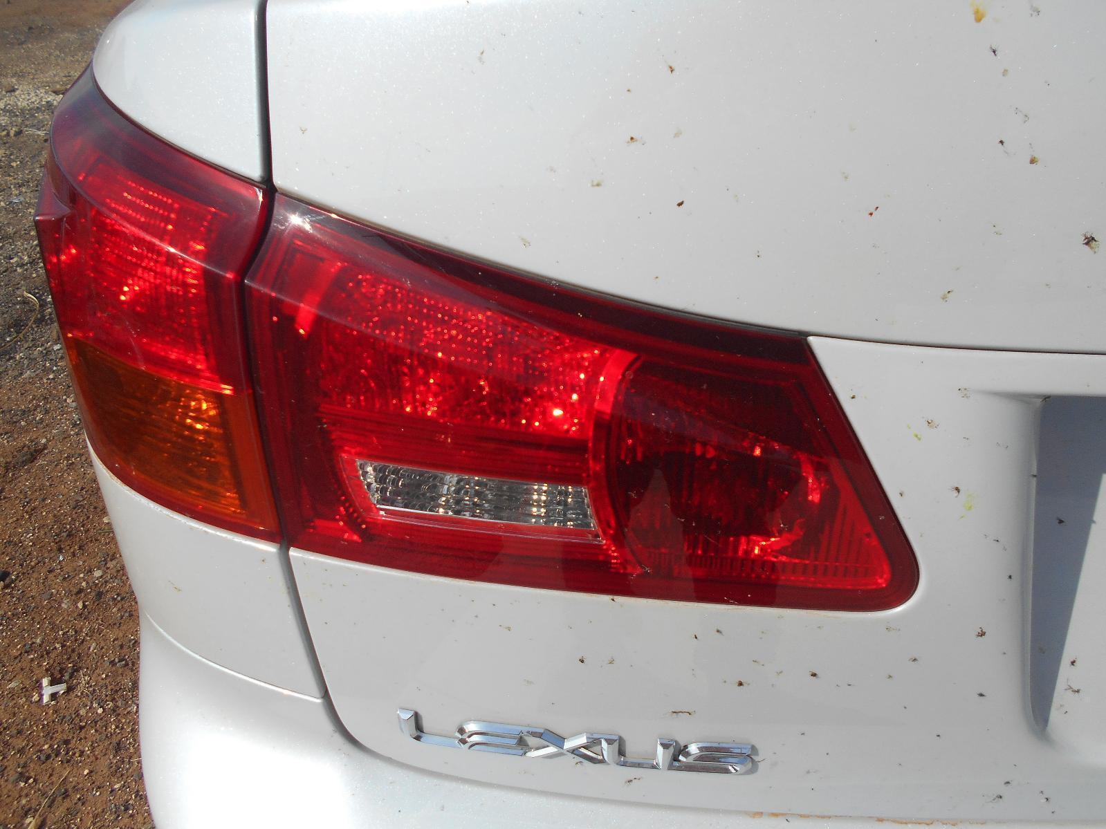 LEXUS IS250/IS250C, Rear Garnish, IS250, BOOTLID LAMP (LH SIDE), GSE20R, SEDAN, 11/05-09/08