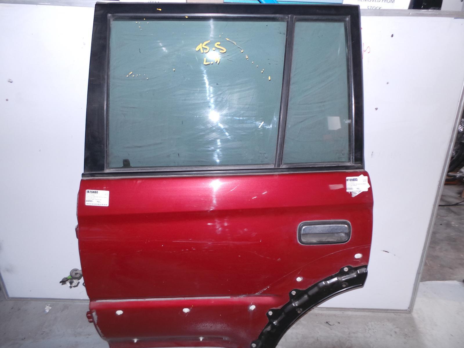 TOYOTA PRADO, Left Rear Door/Sliding, 95 SERIES, W/ MOULD TYPE, 07/96-01/03