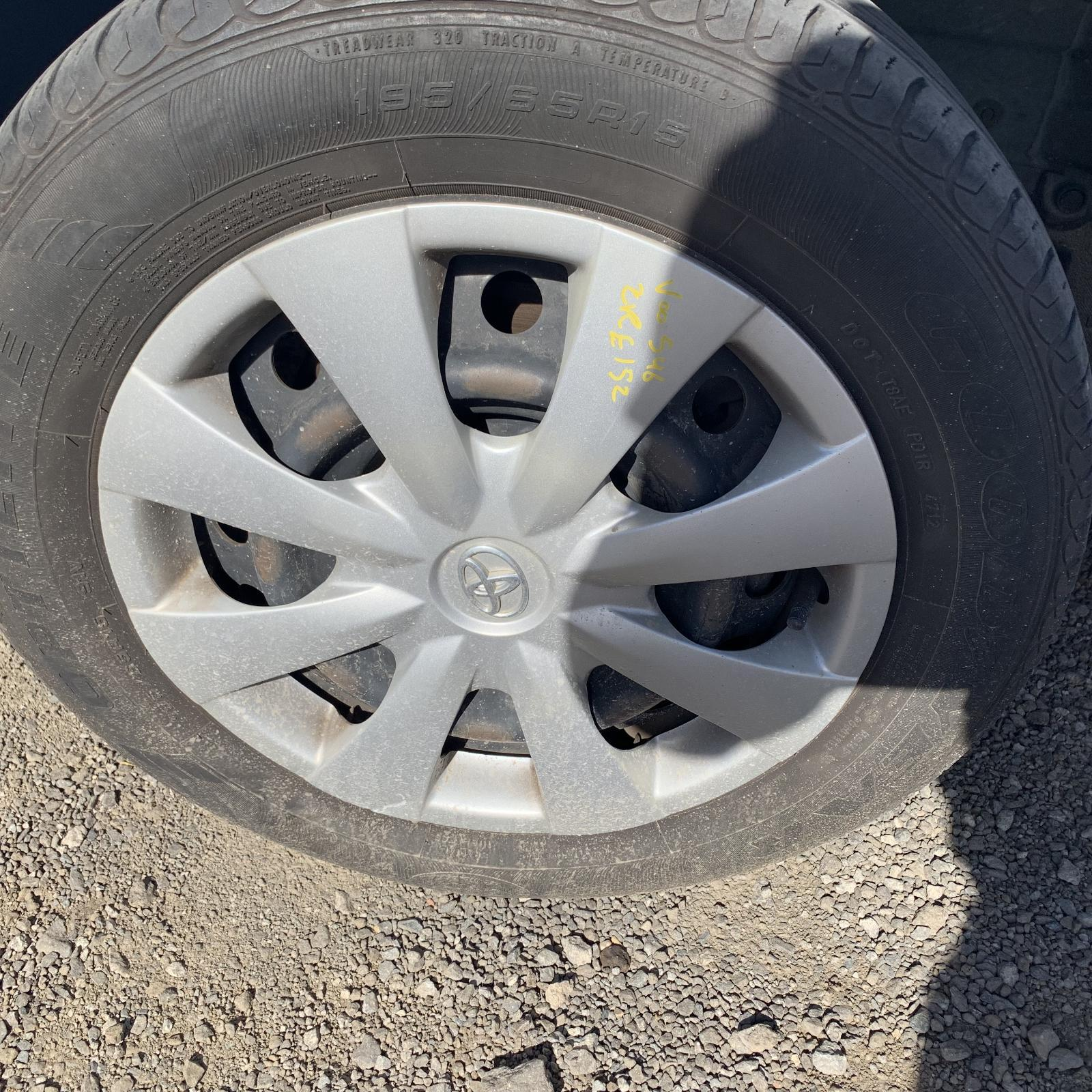 TOYOTA COROLLA, Wheel Cover/Hub Cap, 150 SERIES, 03/07-12/13