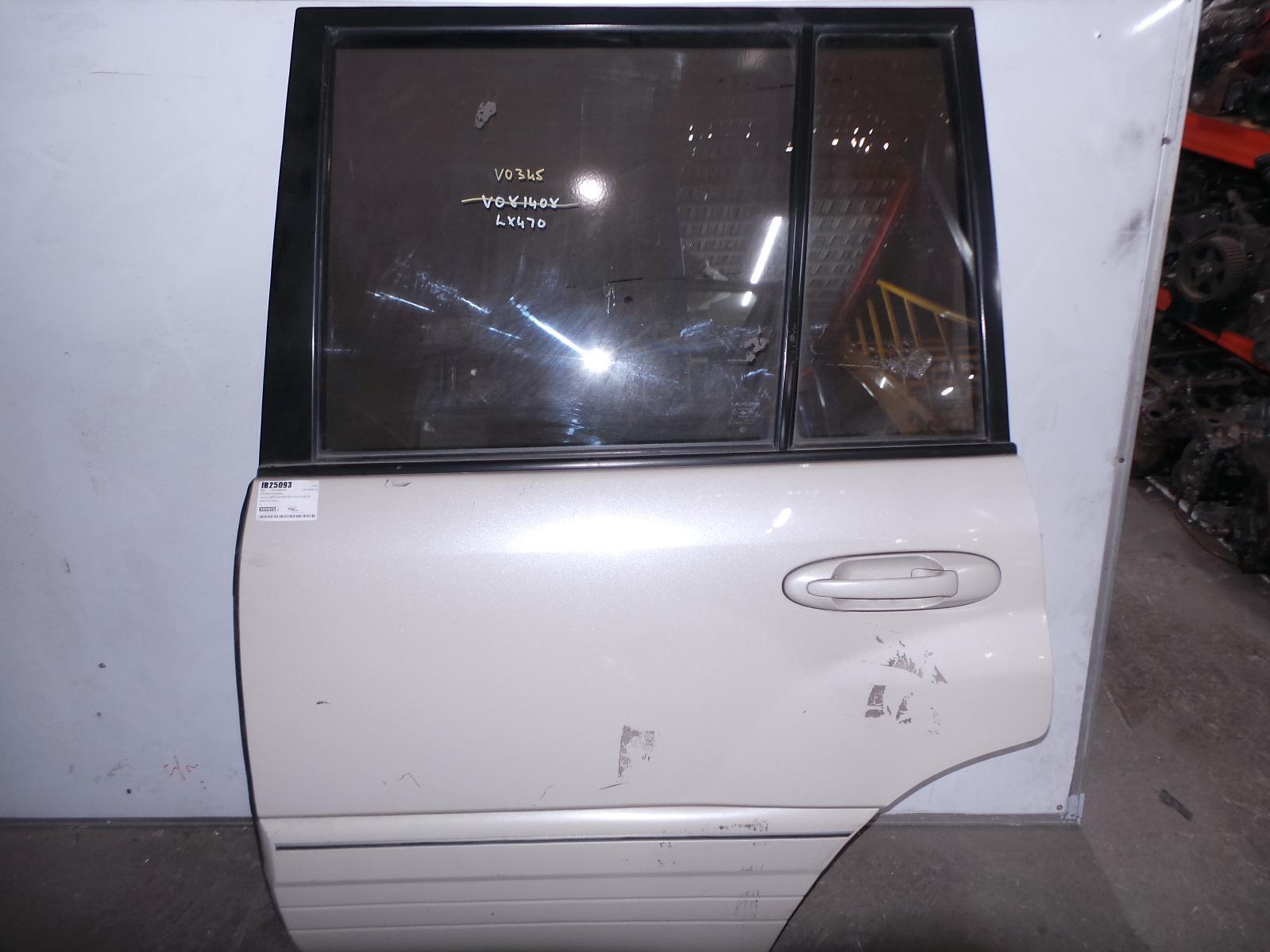 LEXUS LX470, Left Rear Door/Sliding, UZJ100R, 05/98-12/07