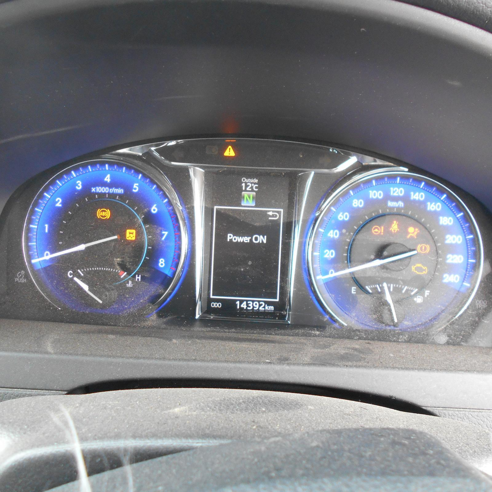 TOYOTA CAMRY, Instrument Cluster, INSTRUMENT CLUSTER, 2.5, 2AR-FE, ATARA SL, ACV50, 05/15-10/17