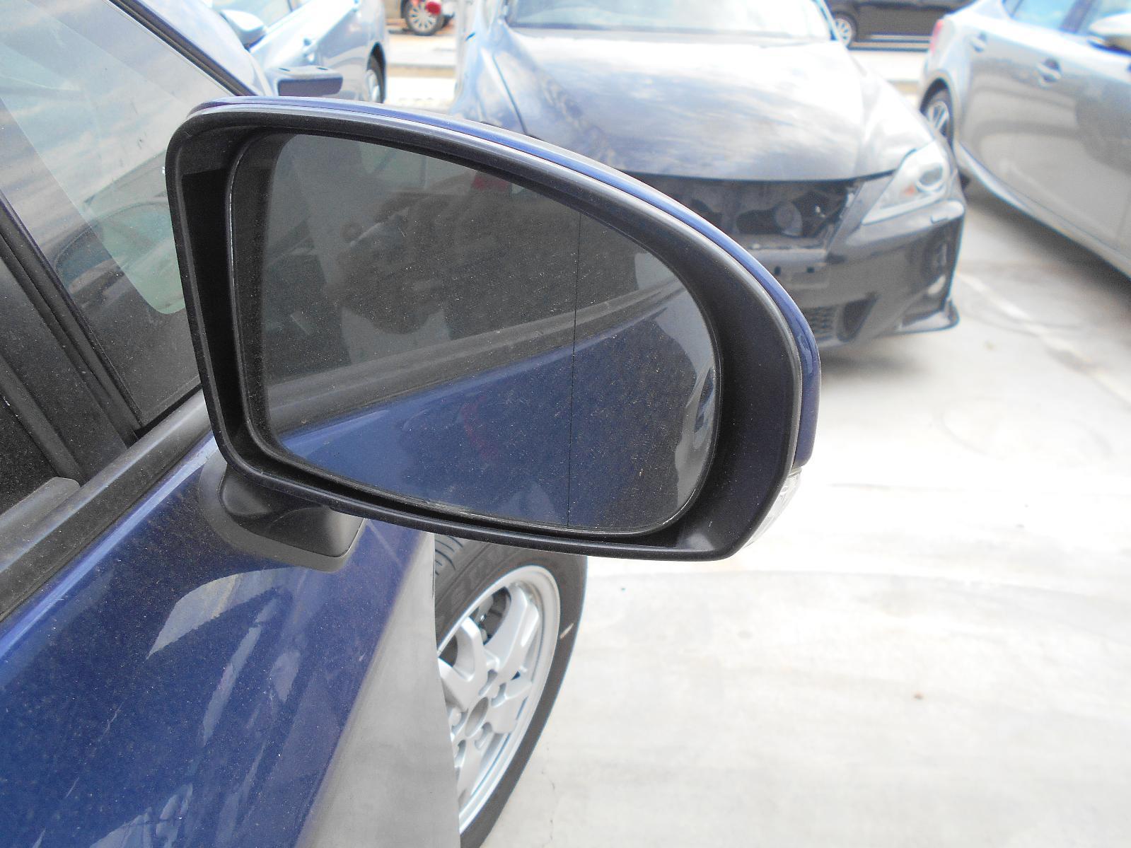 TOYOTA PRIUS, Right Door Mirror, ZVW30R, 06/09-01/12