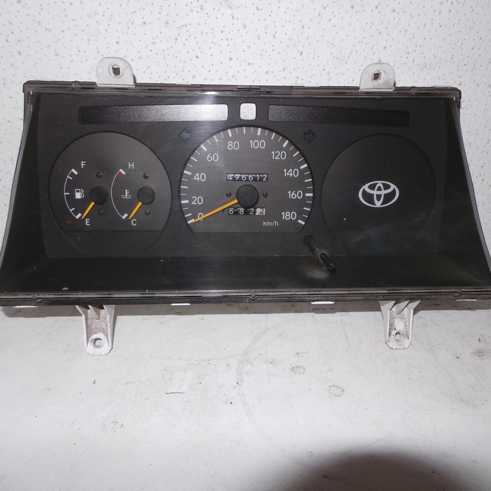TOYOTA HIACE, Instrument Cluster, PETROL, MANUAL T/M, NON TACHO TYPE, LH/RZH10#, 09/98-12/04