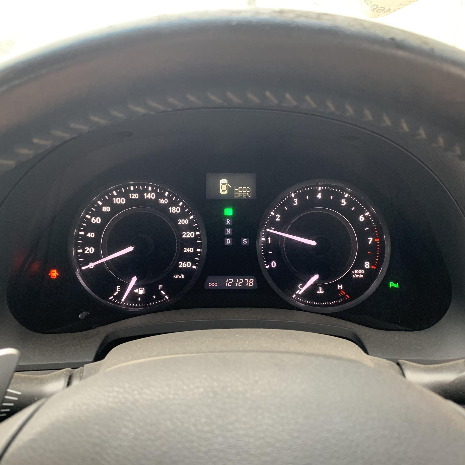 LEXUS IS250/IS250C, Instrument Cluster, AUTO T/M TYPE, GSE20R, 11/05-09/10