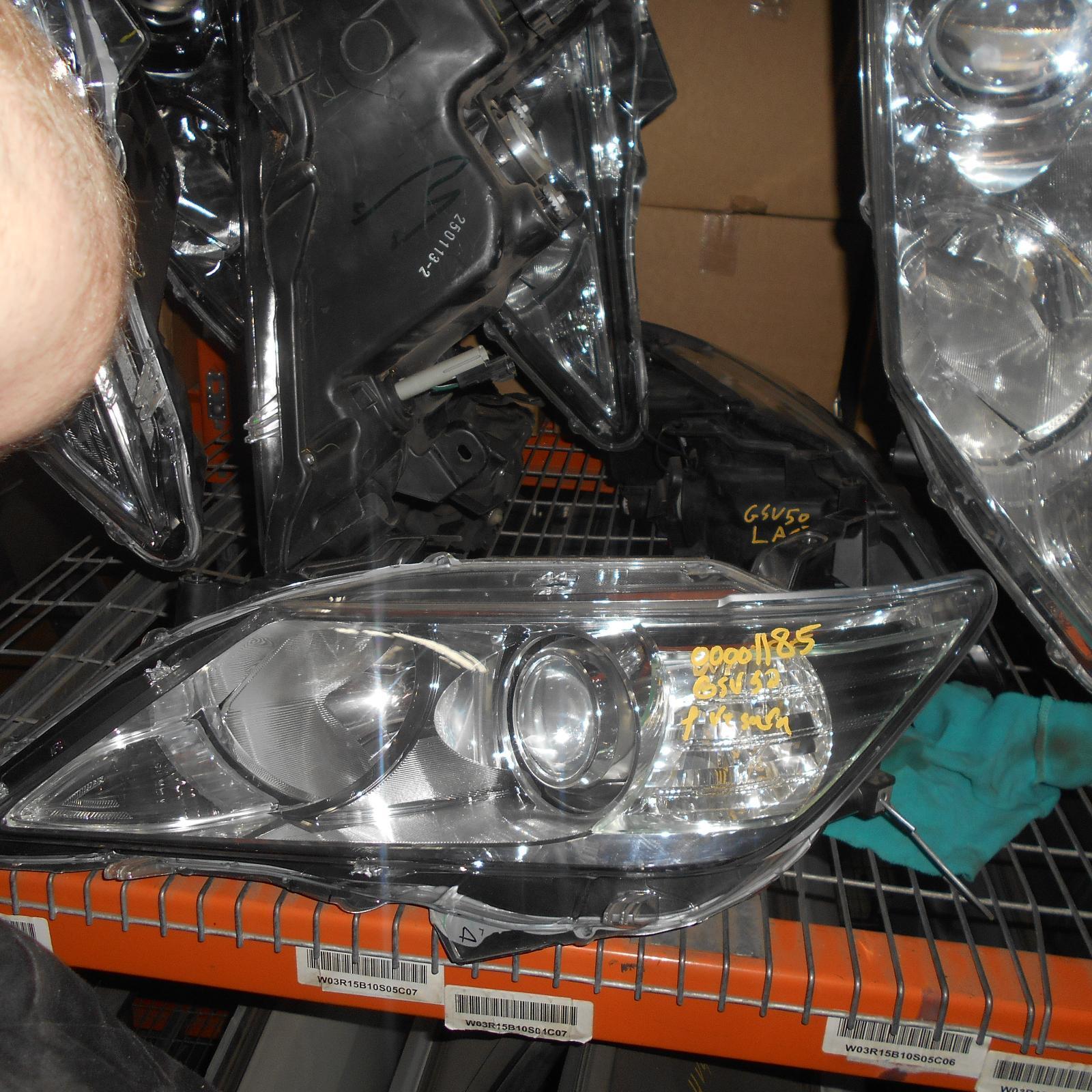 TOYOTA AURION, Left Headlamp, GSV50R, XENON TYPE, 04/12-04/15