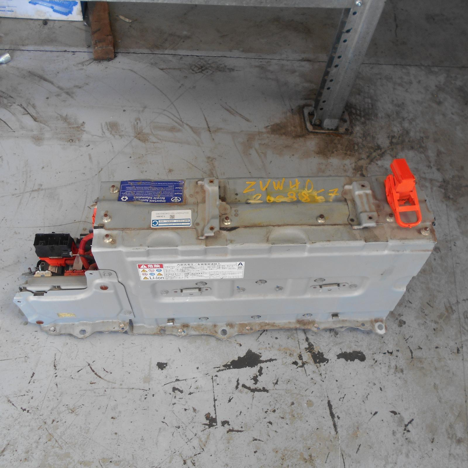 TOYOTA PRIUS, High Voltage Battery, HYBRID BATTERY, 201.6 VOLT, (UNDER CENTRE CONSOLE), ZVW40R, 05/12-
