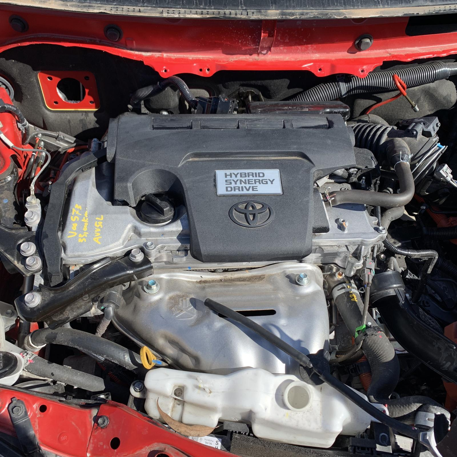 TOYOTA CAMRY, Engine, 2.5, 2AR-FXE, HYBRID, ACV50, 03/12-10/17