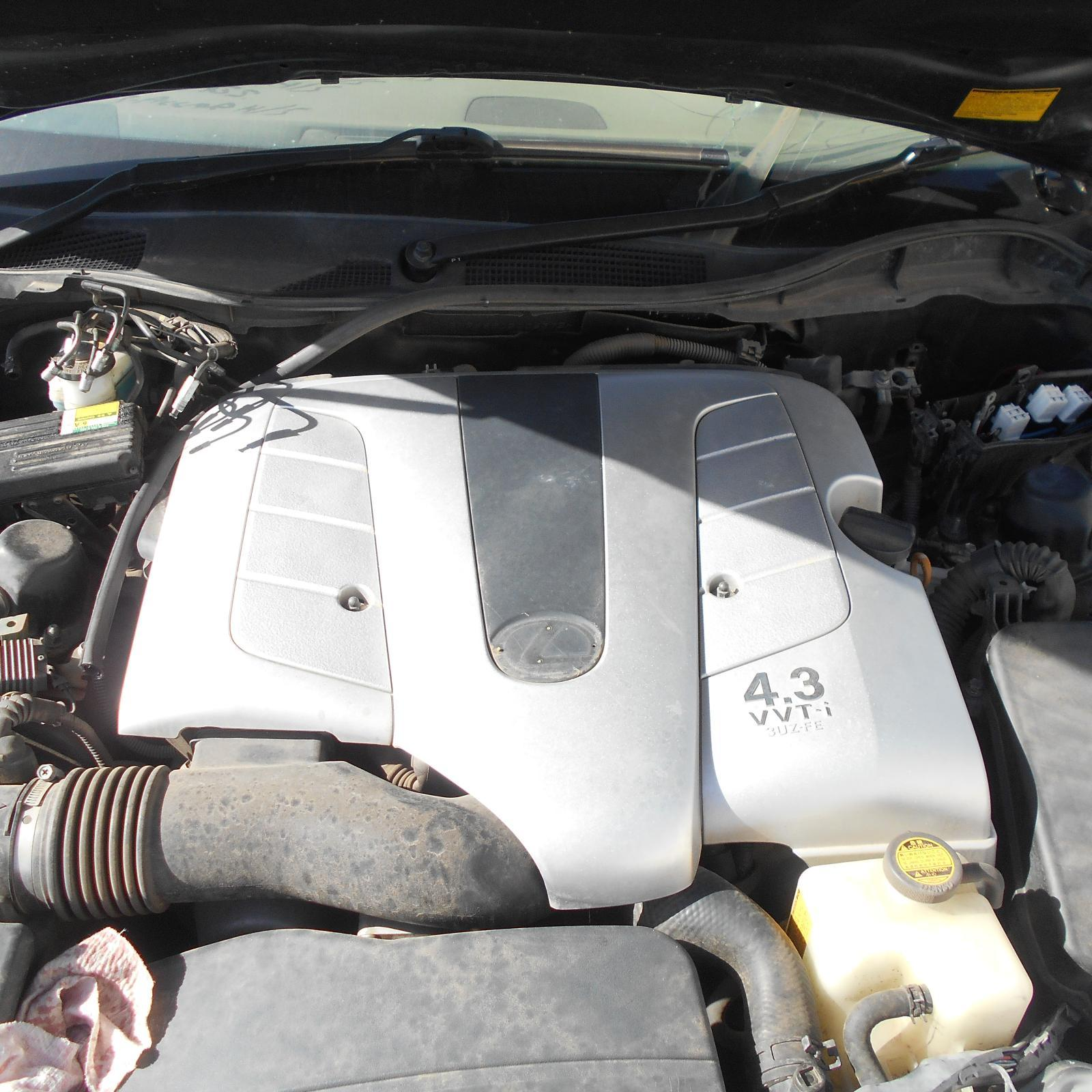 LEXUS GS, Engine, PETROL, 4.3, 3UZ, 190 SERIES, 03/05-01/08