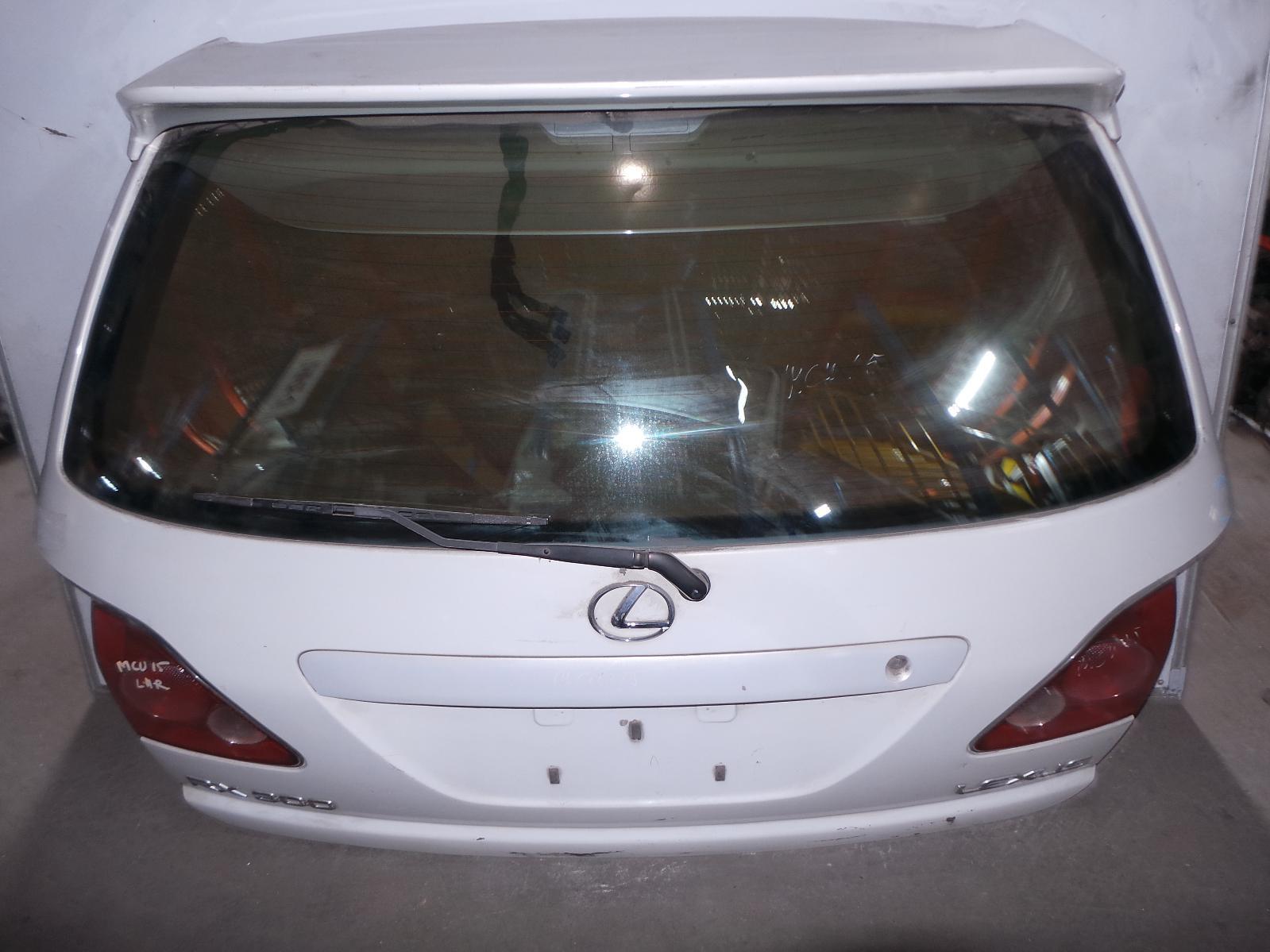 LEXUS RX300, Bootlid/Tailgate, HARRIER IMPORT 97-02