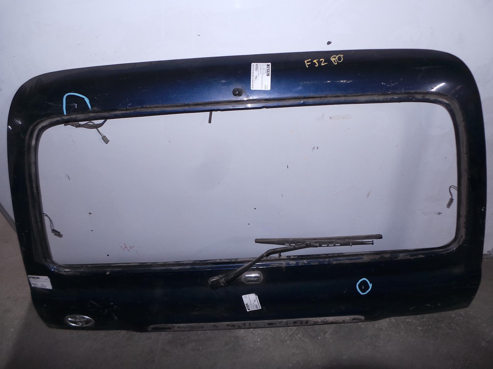 TOYOTA LANDCRUISER, Bootlid/Tailgate, 80 SERIES, UPPER TAILGATE, S/W GATE, 05/90-03/98