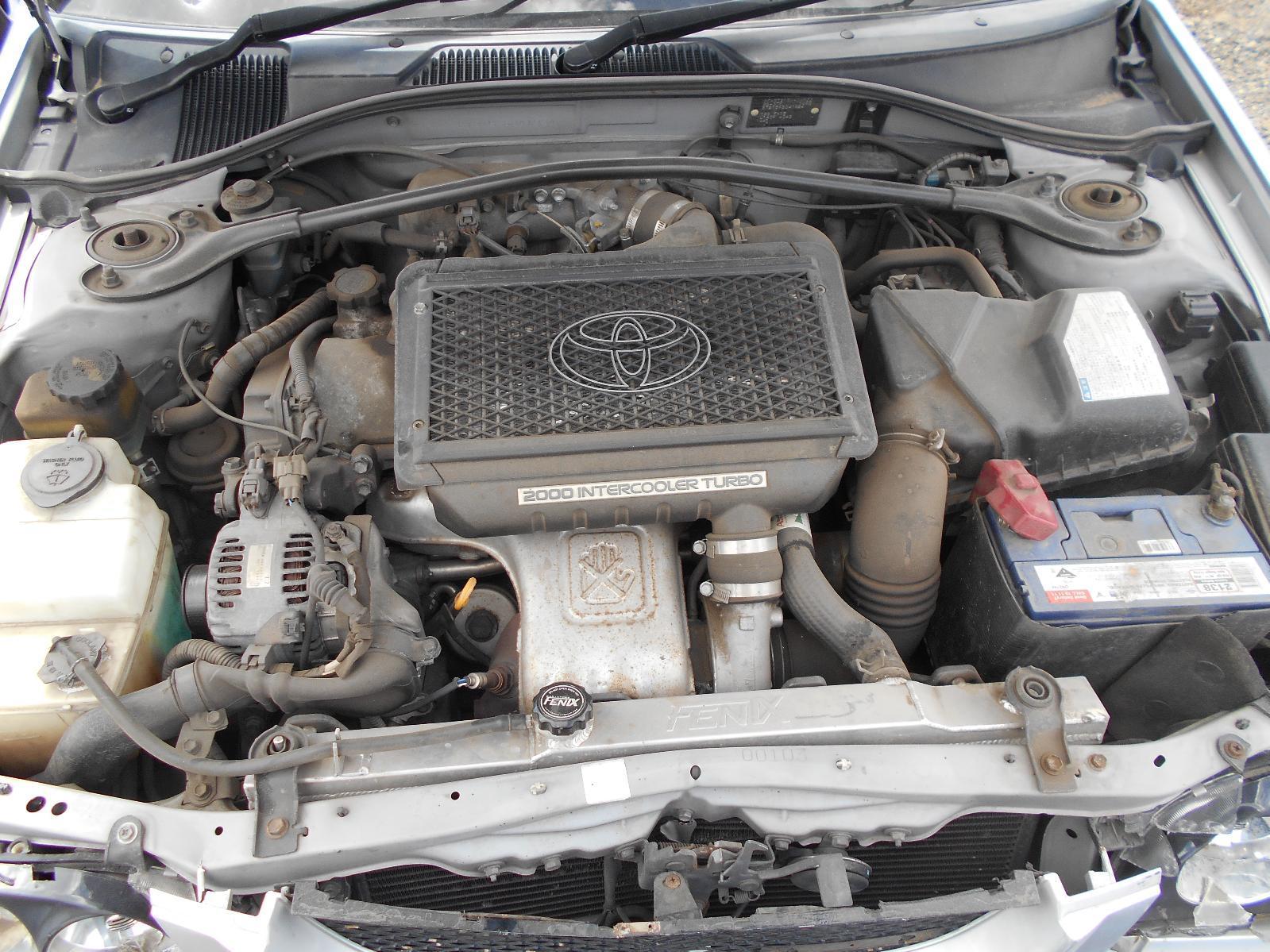 TOYOTA CALDINA, Engine, PETROL, 2.0, 3S-GTE, TURBO, T210, 08/97-09/02 (IMPORT)